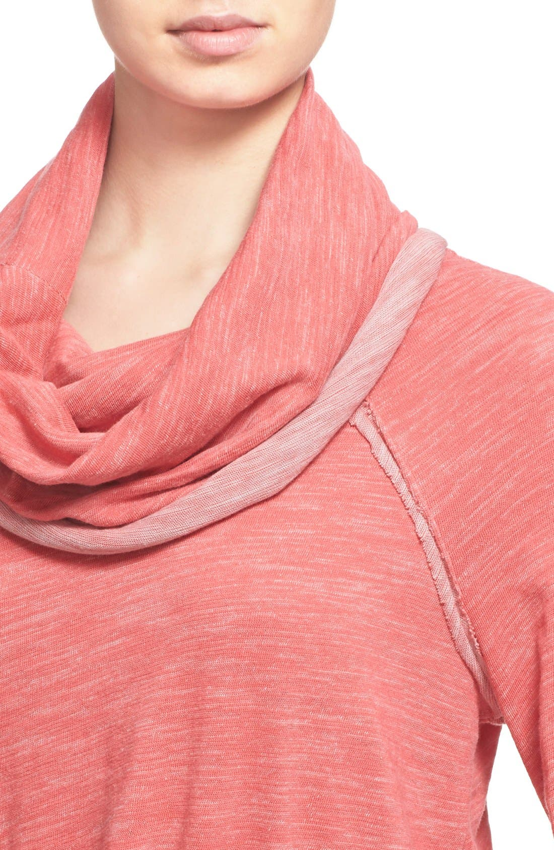 'Beach Cocoon' Cowl Neck Pullover,                             Alternate thumbnail 34, color,
