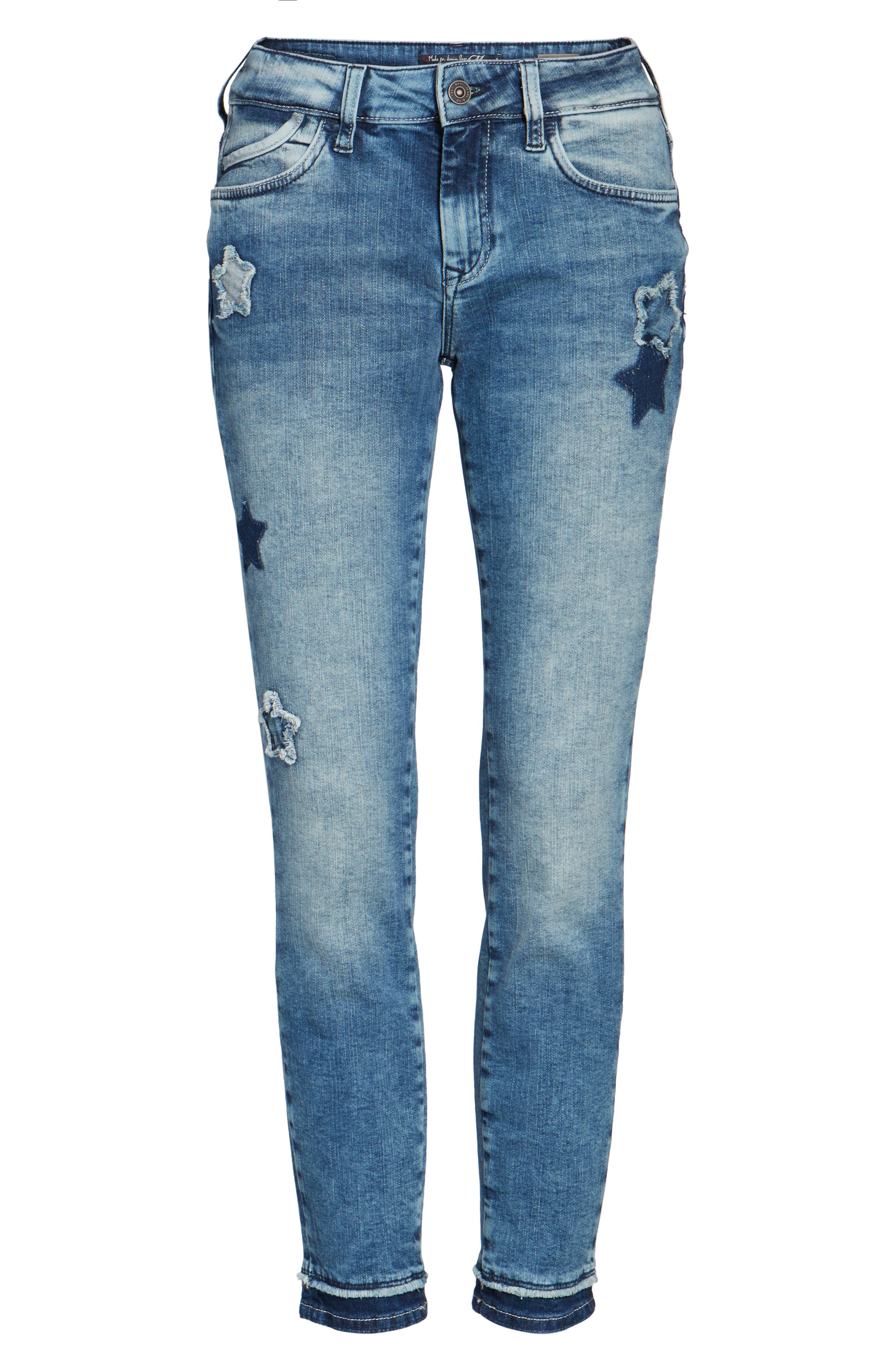 Adriana Super Skinny Ankle Jeans,                             Alternate thumbnail 6, color,                             420