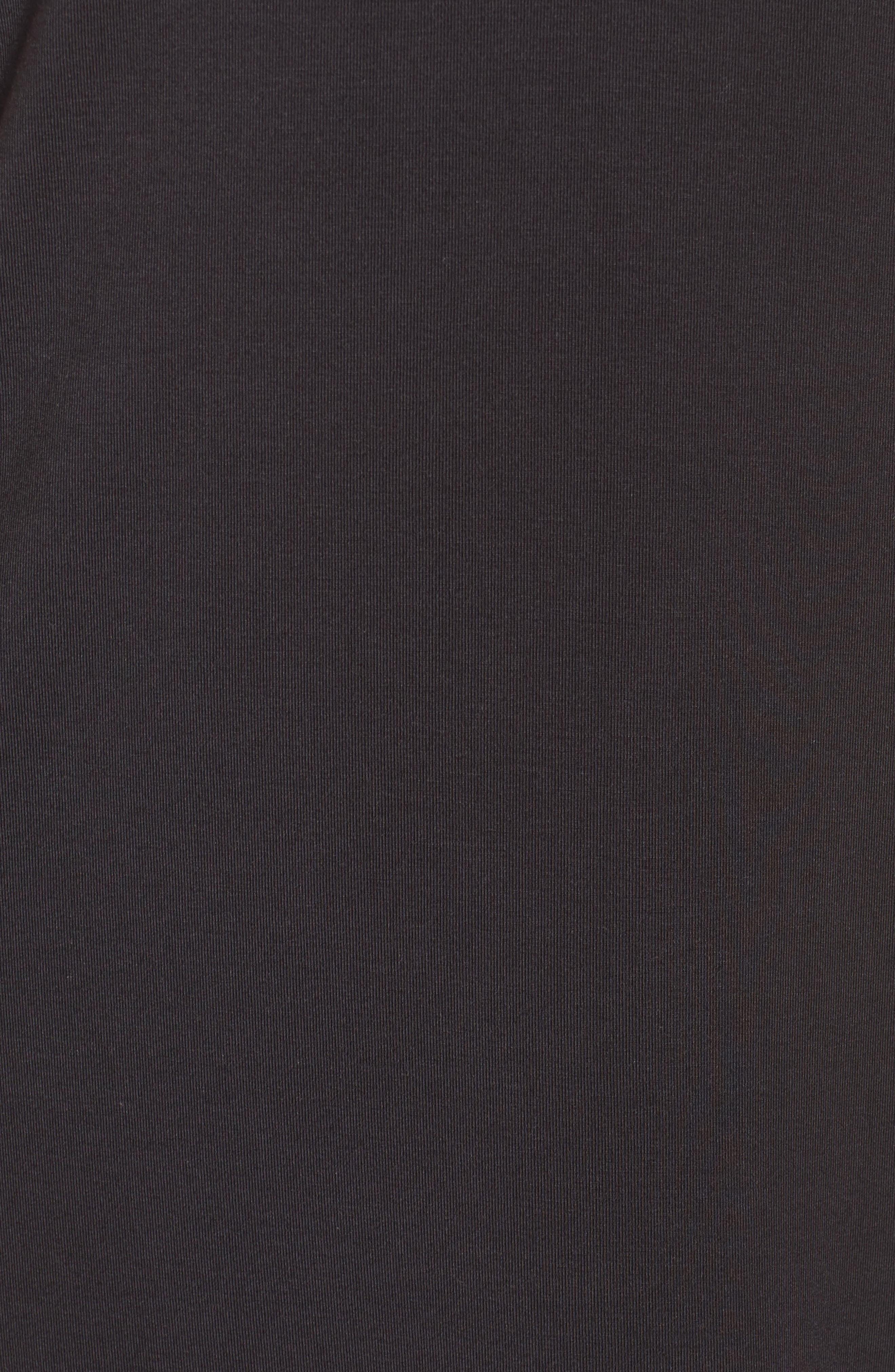 'City Essentials' V-Neck Sleep Shirt,                             Alternate thumbnail 6, color,                             001