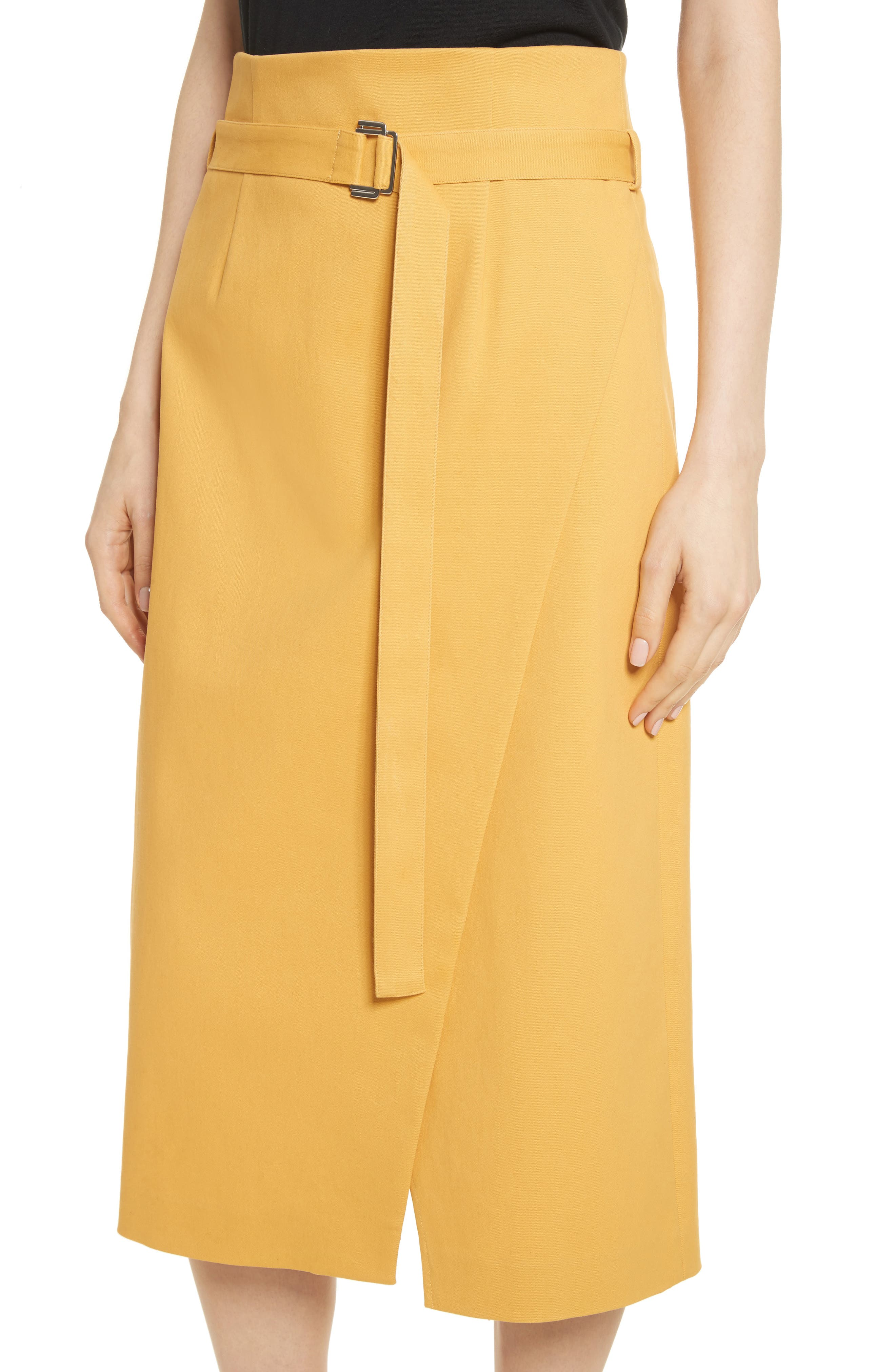 Belted Midi Skirt,                             Alternate thumbnail 4, color,