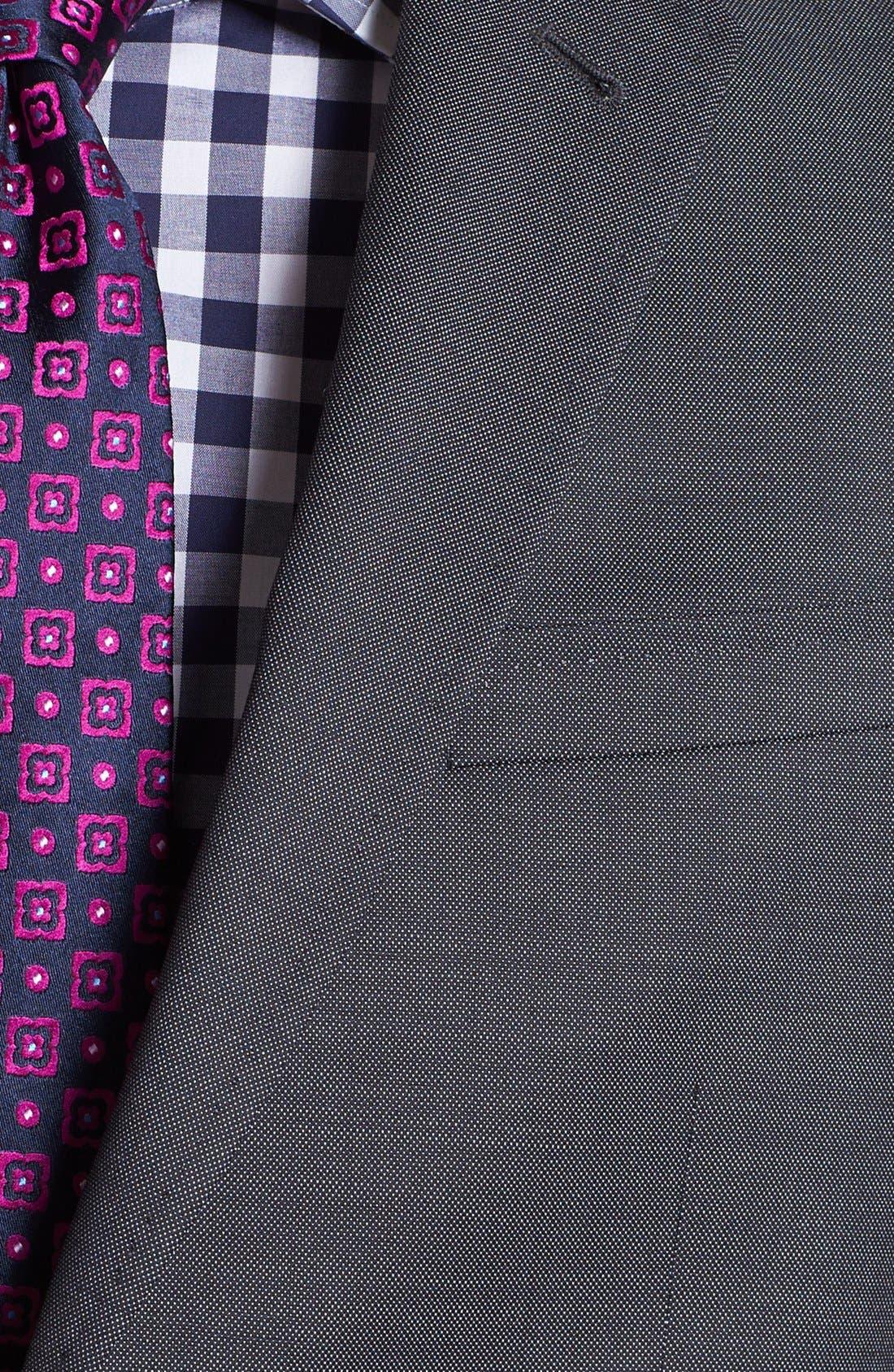 Jones Trim Fit Wool Suit,                             Alternate thumbnail 9, color,