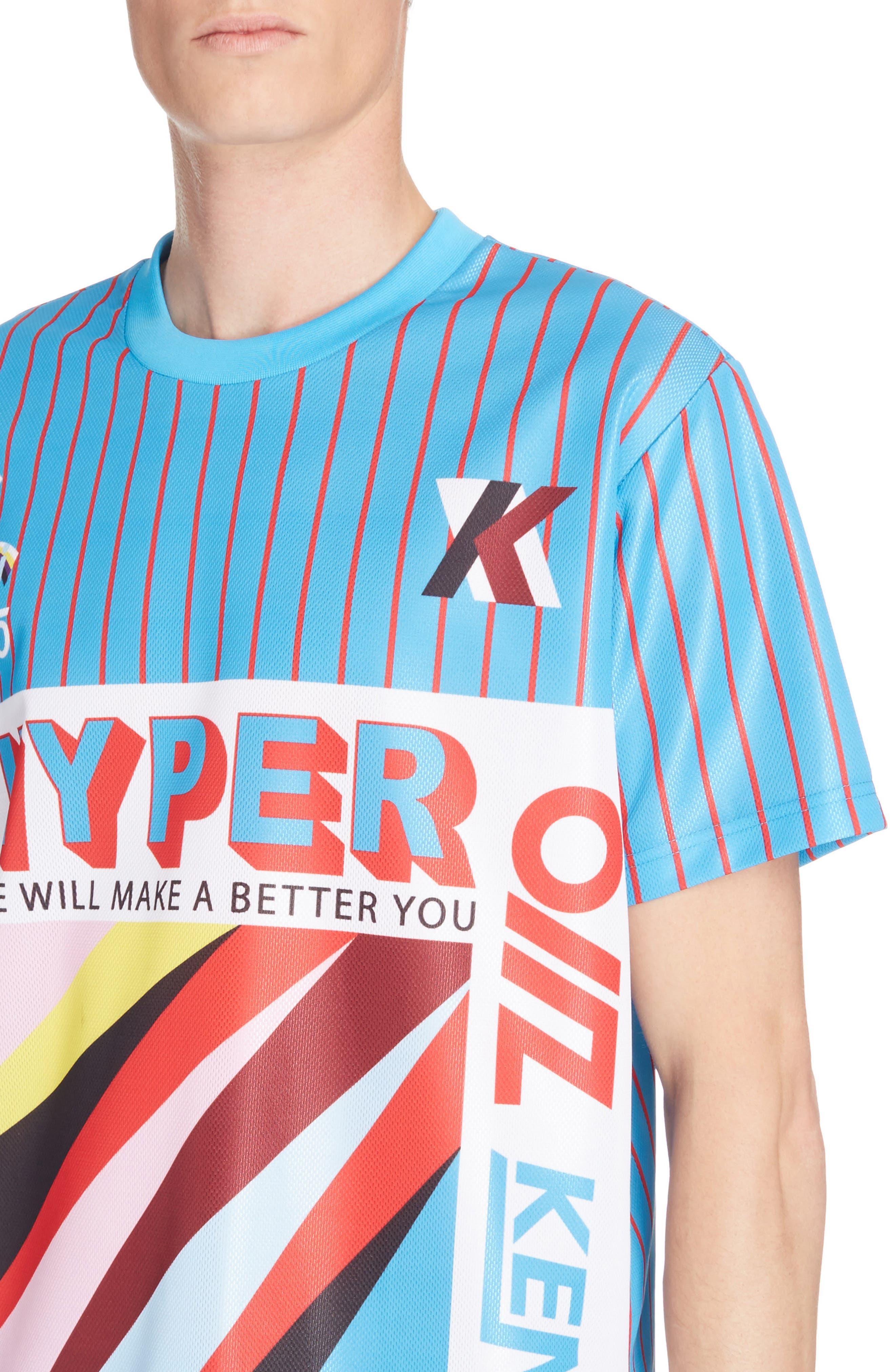 Hyper Print T-Shirt,                             Alternate thumbnail 4, color,                             441