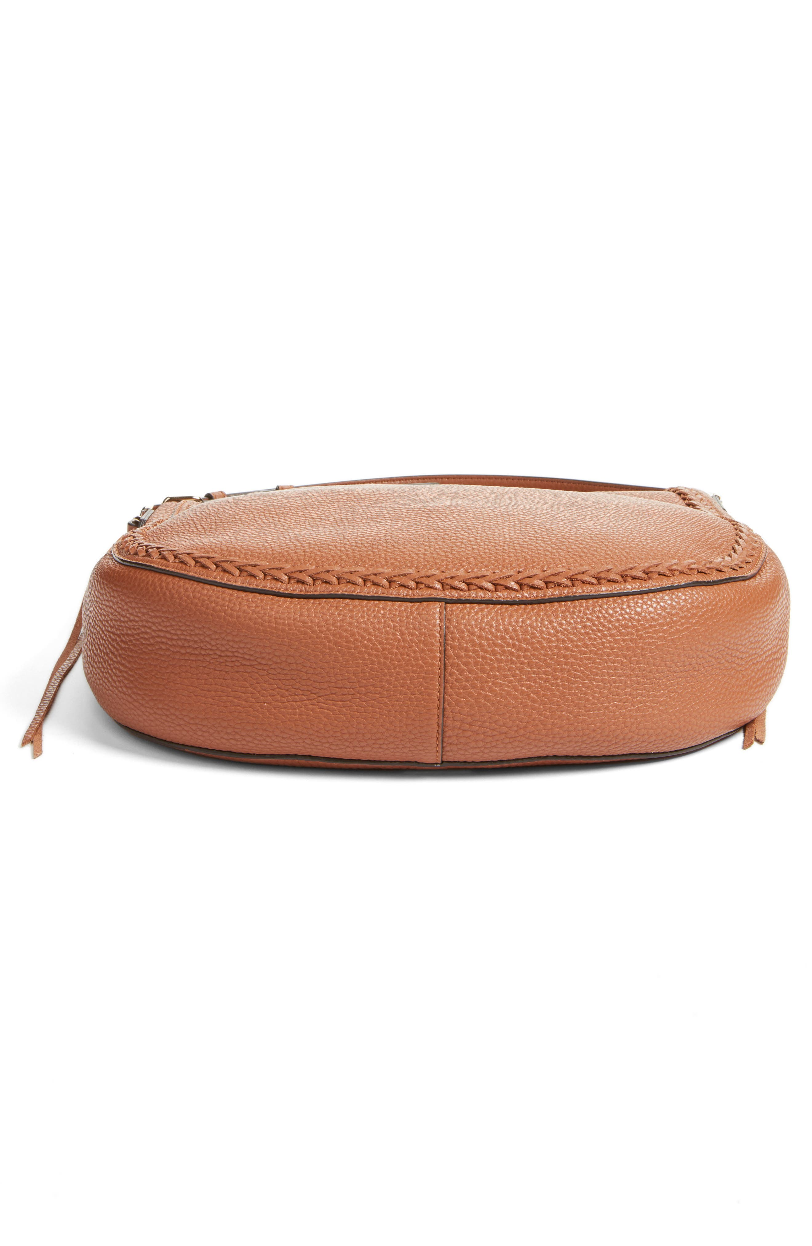 Unlined Convertible Whipstitch Hobo,                             Alternate thumbnail 38, color,