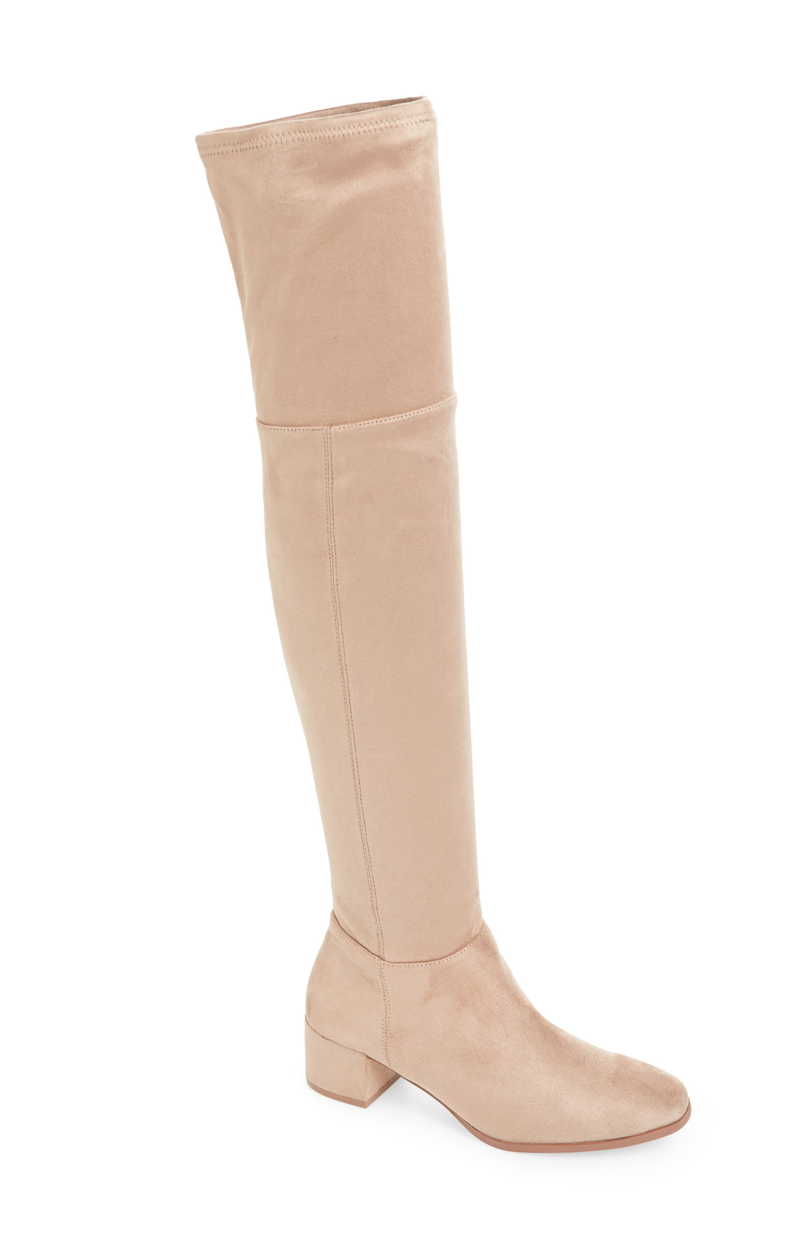 Chinese Laundry Felix Over The Knee Boot- Beige