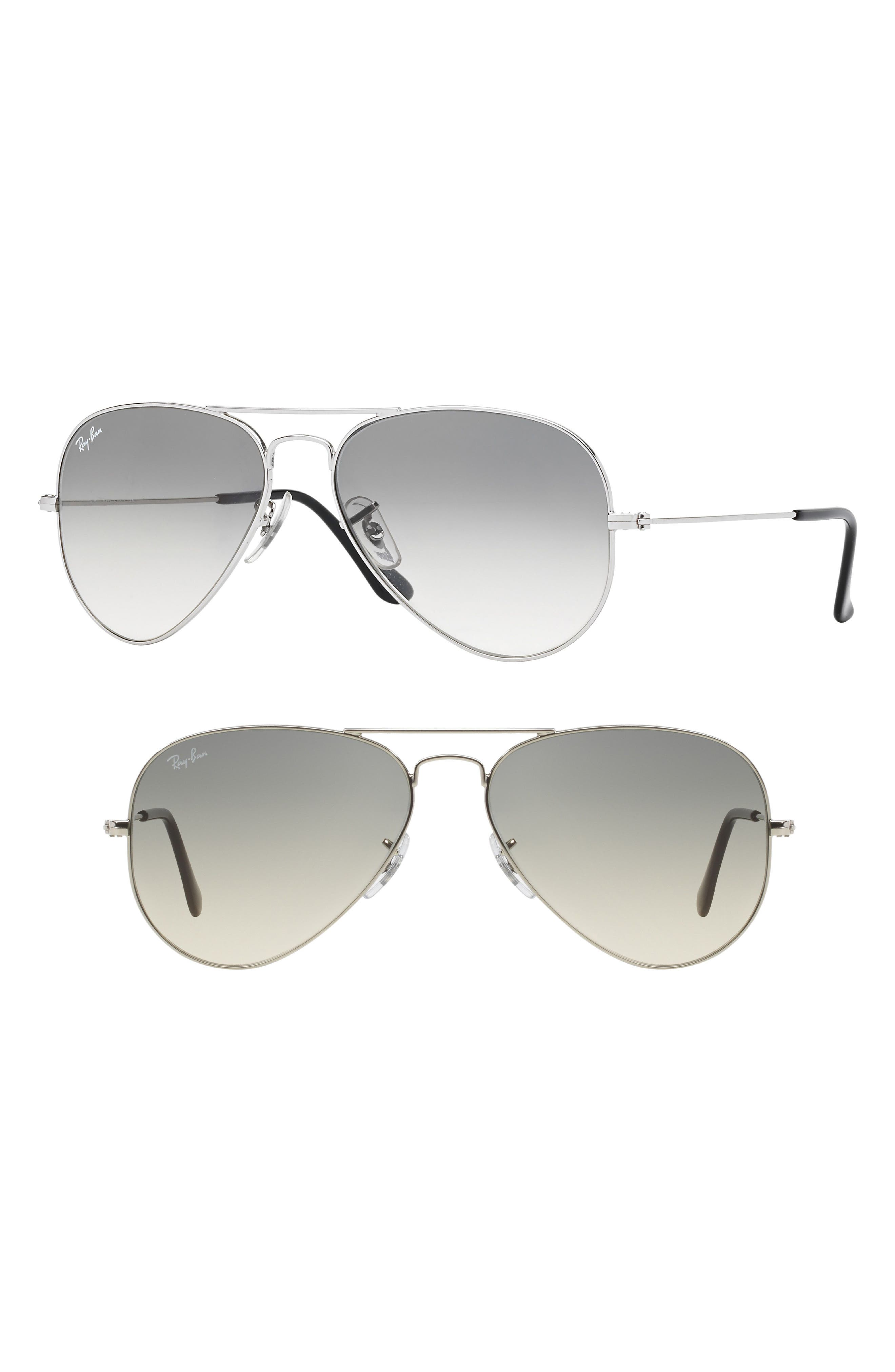 Standard Original 58mm Aviator Sunglasses,                             Alternate thumbnail 2, color,                             050