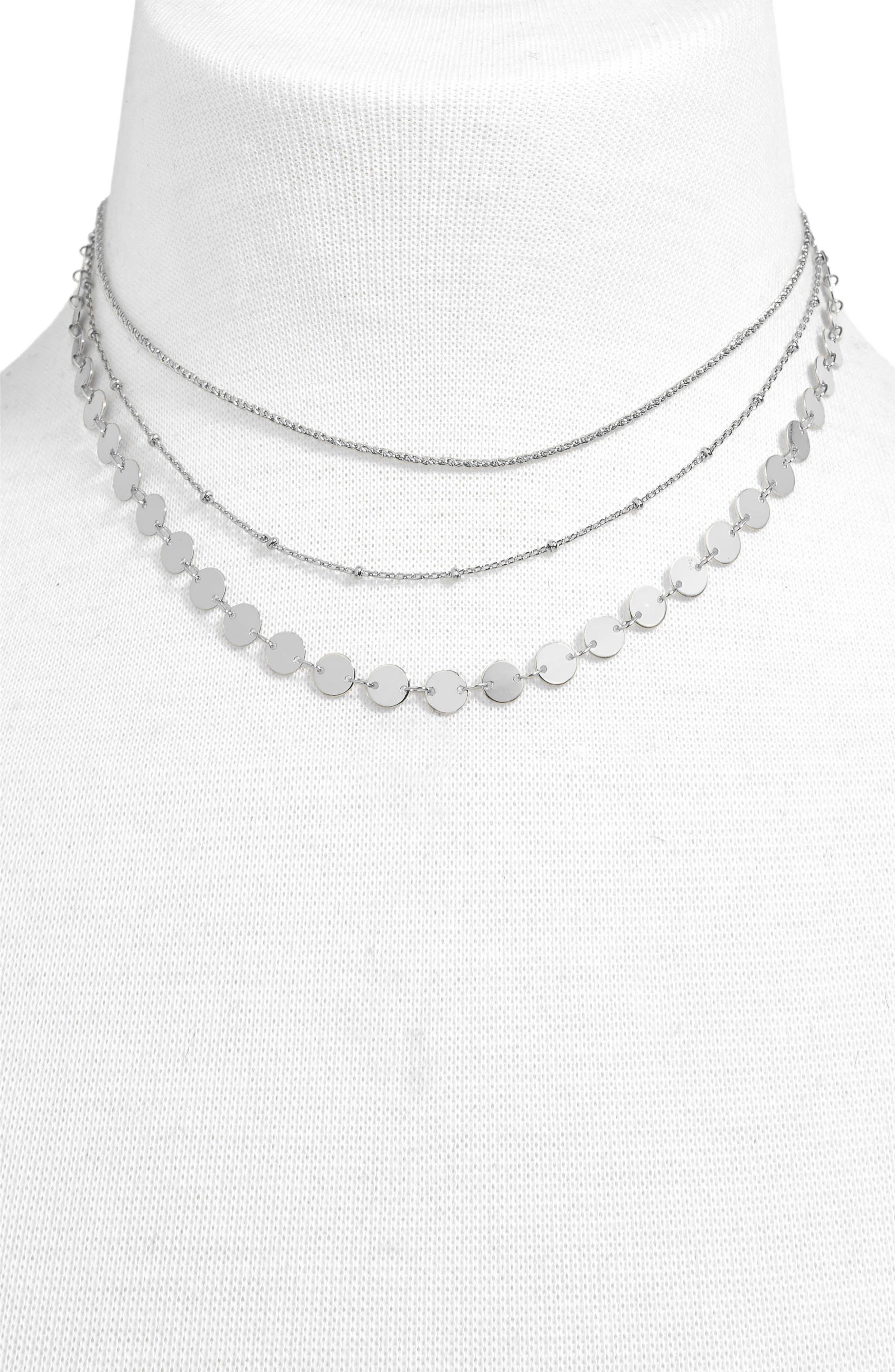 Sophia Layered Collar Necklace,                             Main thumbnail 1, color,                             040