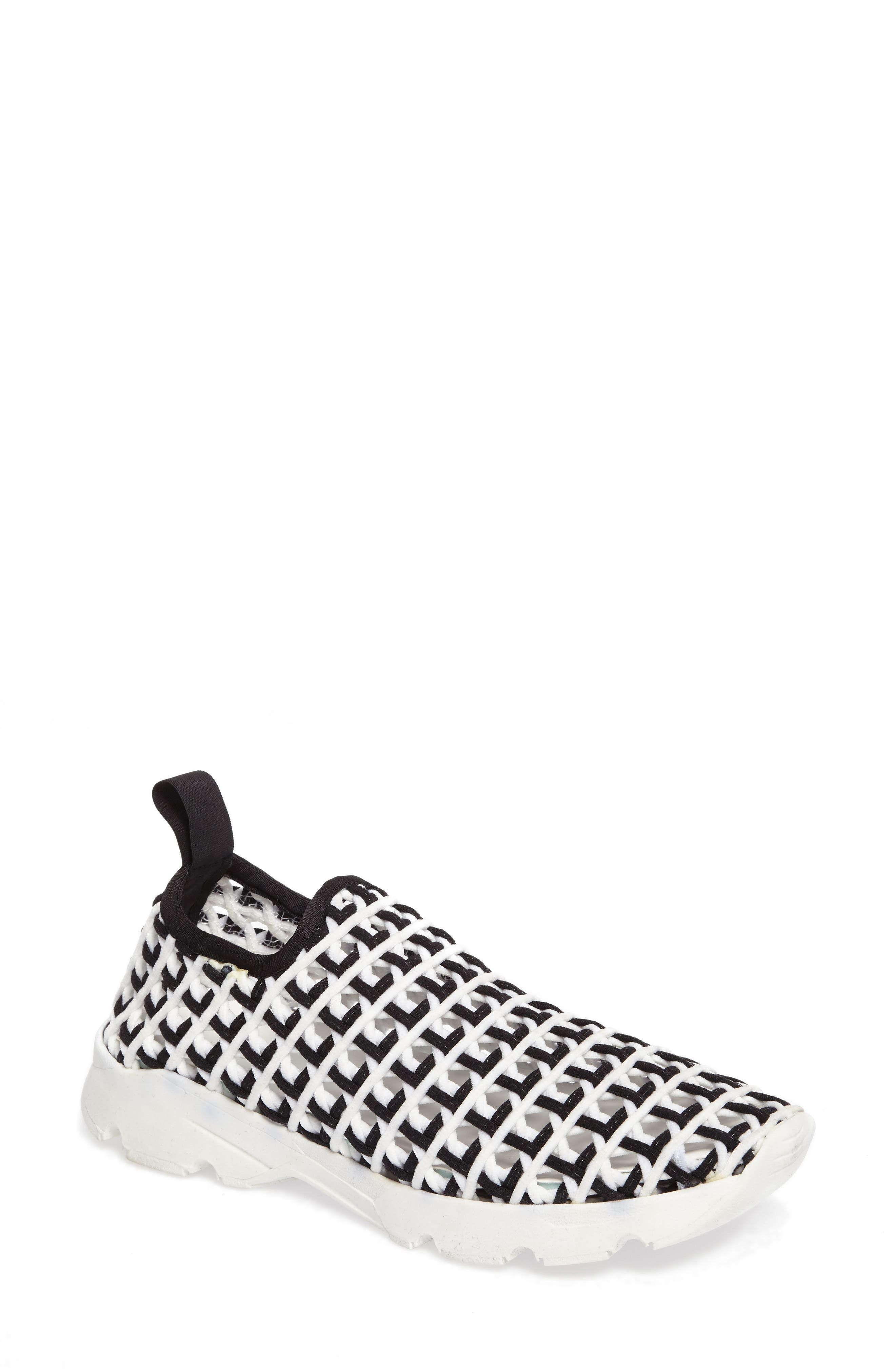 Willow Open Knit Sneaker,                             Main thumbnail 1, color,                             001