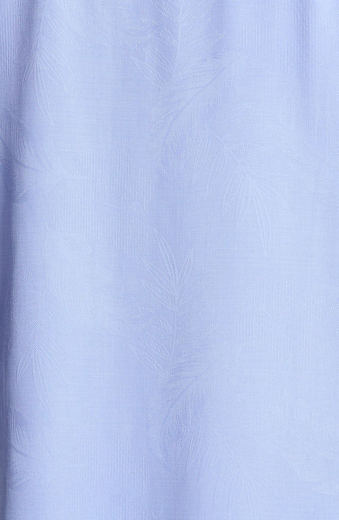 Rio Fronds Short Sleeve Silk Sport Shirt,                             Alternate thumbnail 85, color,