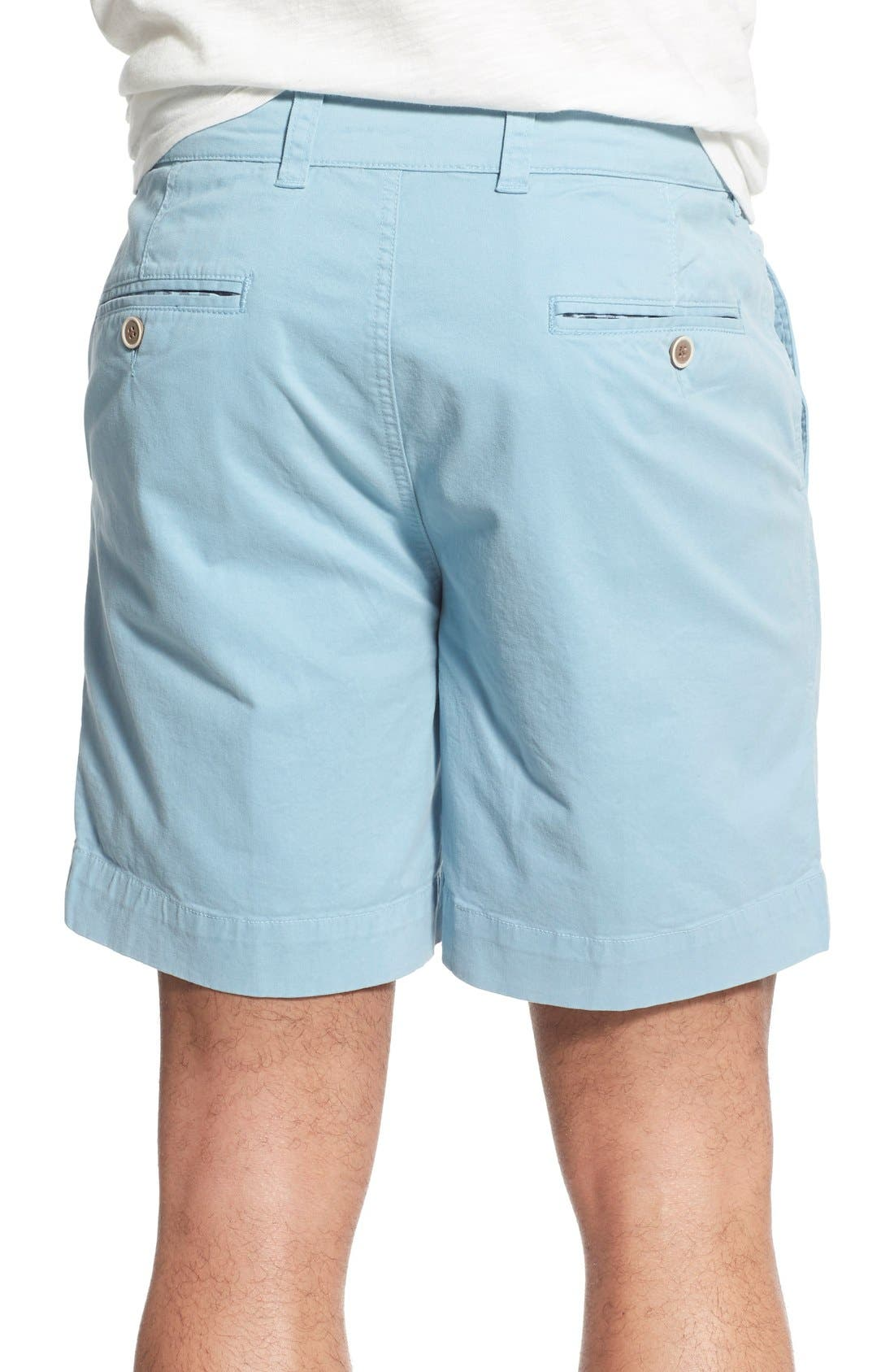 'Sunny' Stretch Twill Chino Shorts,                             Alternate thumbnail 14, color,
