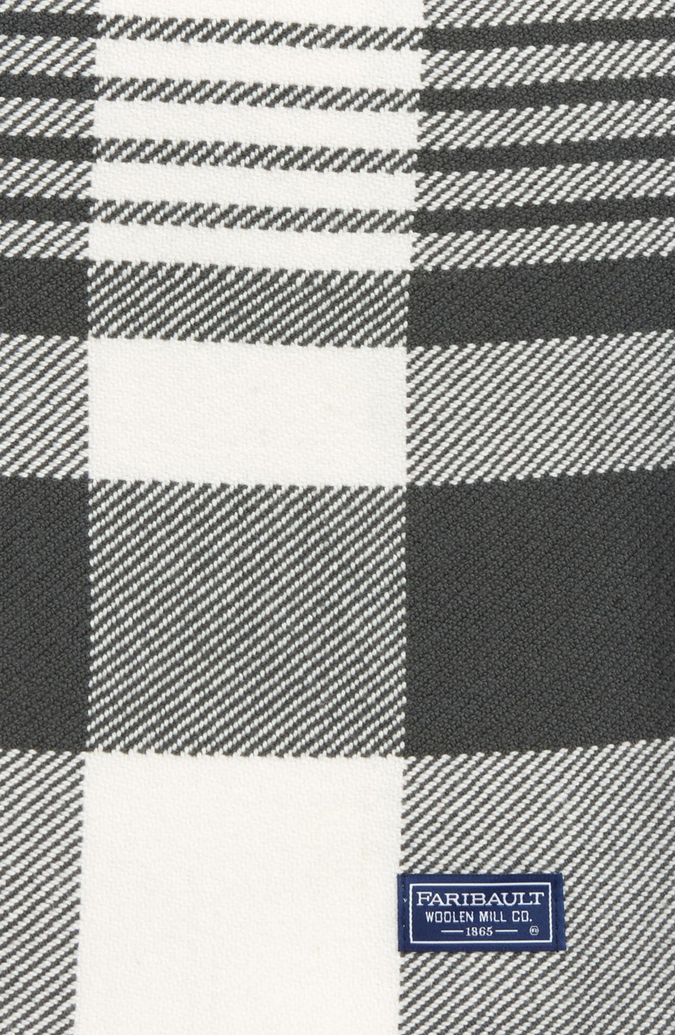 Plaid Throw Blanket,                             Alternate thumbnail 2, color,                             020