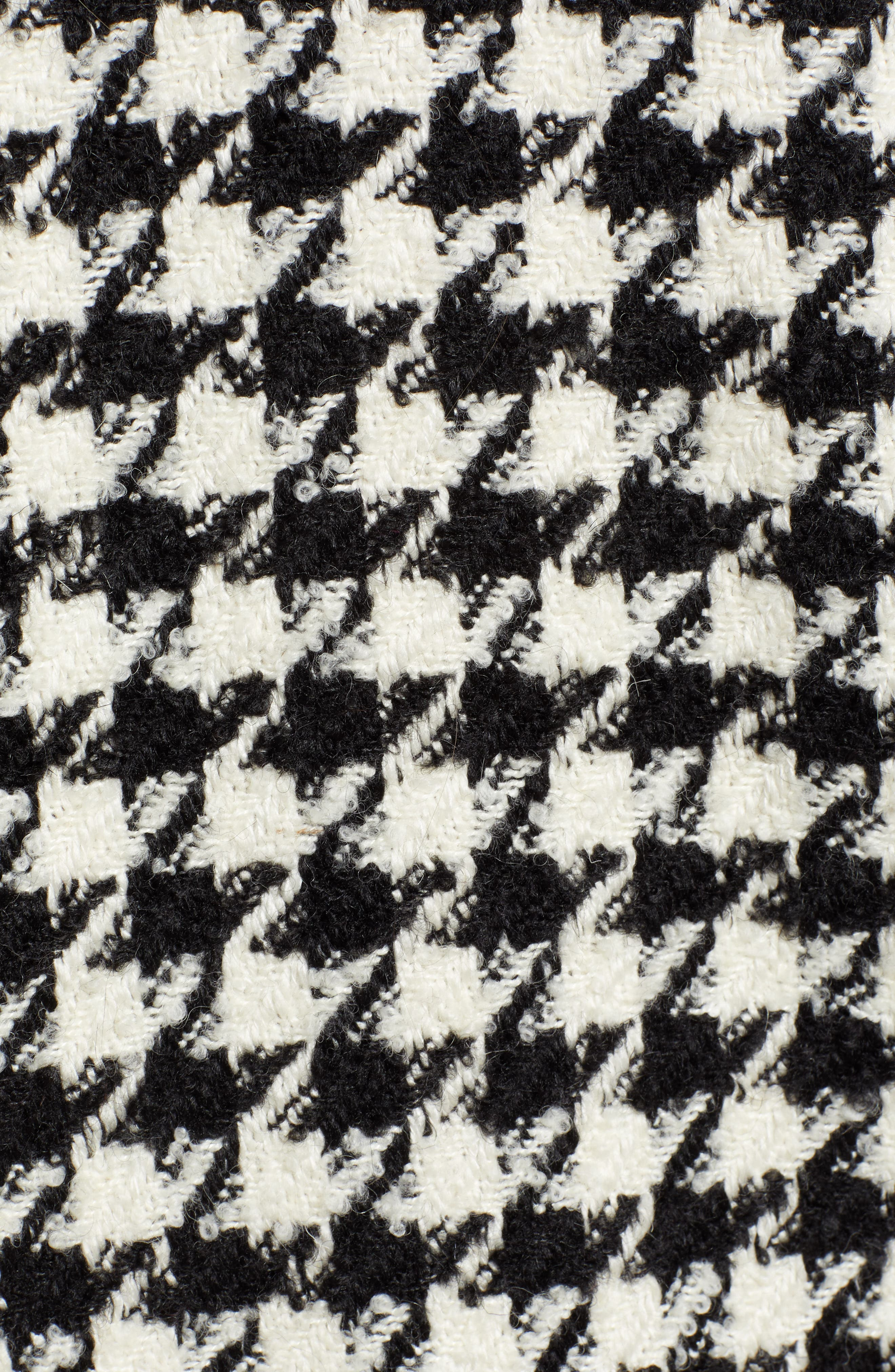 Houndstooth Coat,                             Alternate thumbnail 7, color,                             001