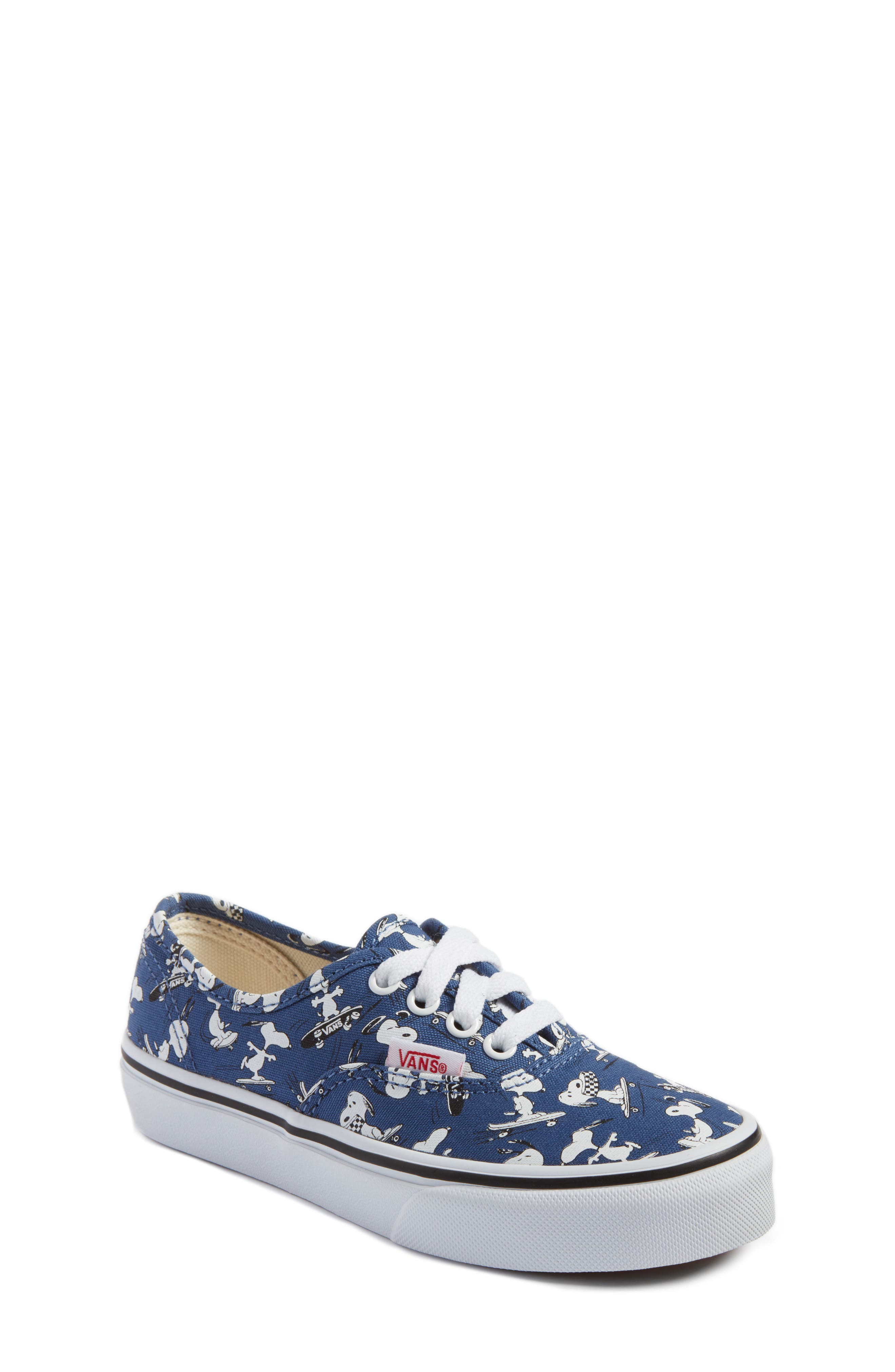 x Peanuts Authentic Sneaker,                             Main thumbnail 1, color,                             400