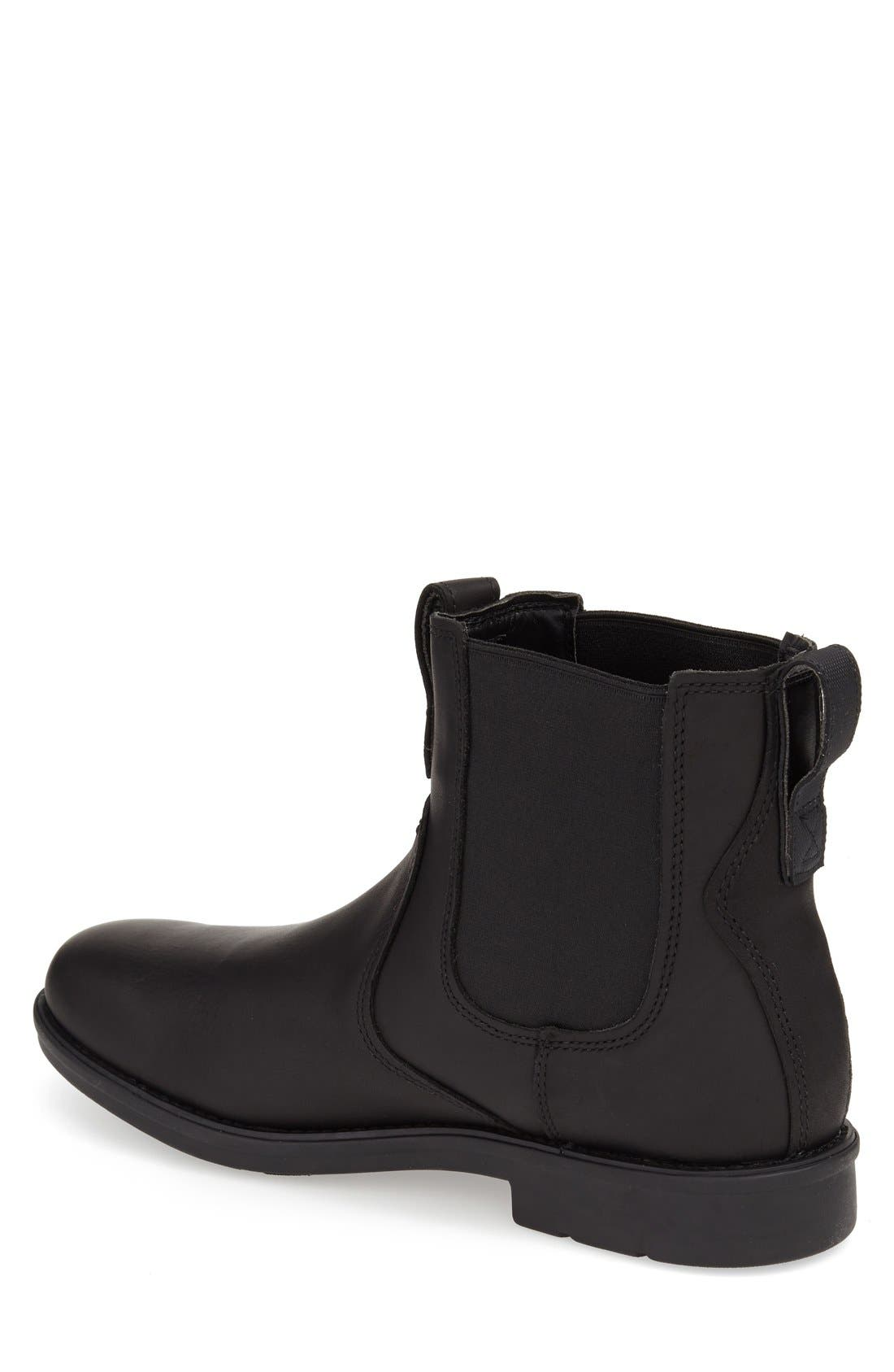 TIMBERLAND,                             'Carter' Chelsea Boot,                             Alternate thumbnail 2, color,                             001
