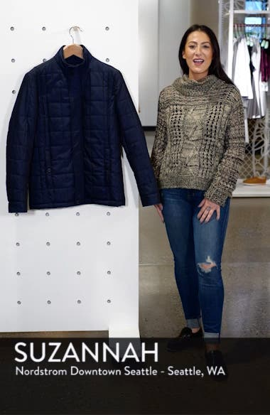 Lesta Quilted Slim Fit Jacket, sales video thumbnail