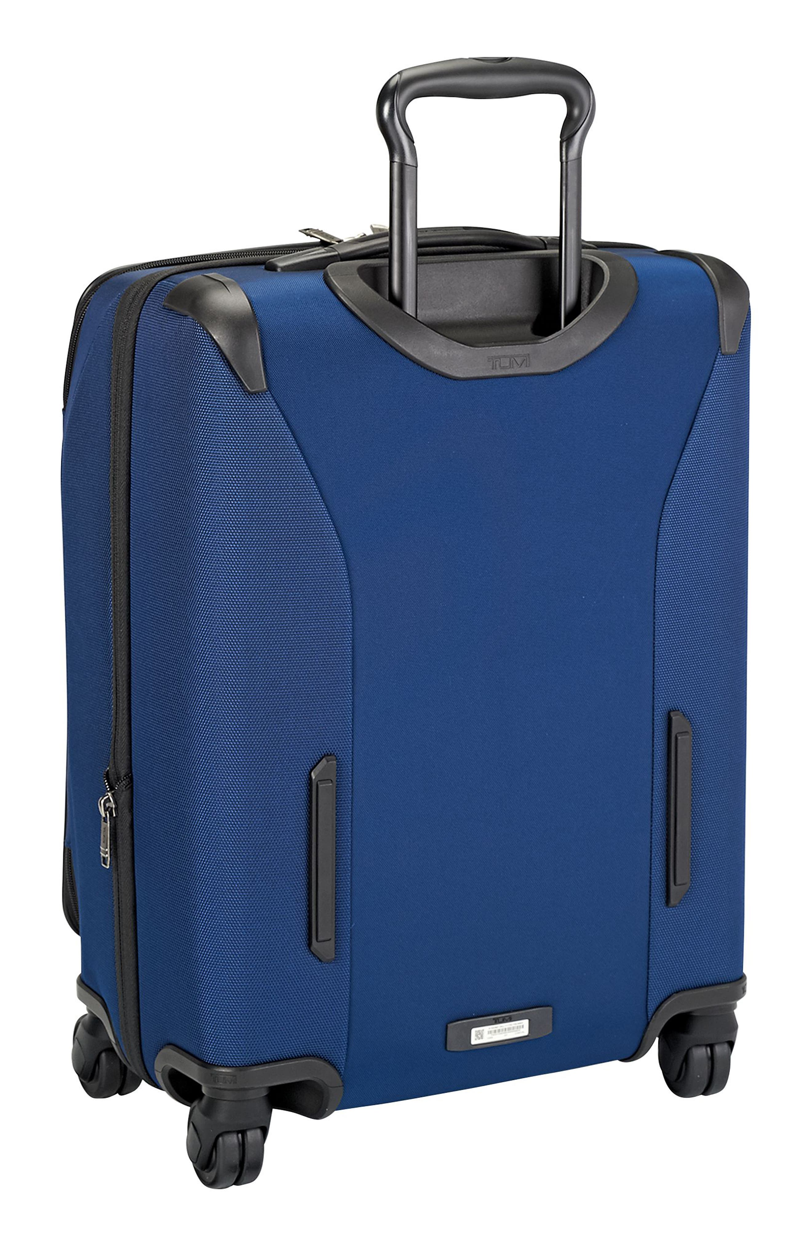 Merge - 22-Inch Continental Expandable Rolling Carry-On,                             Alternate thumbnail 4, color,                             OCEAN BLUE