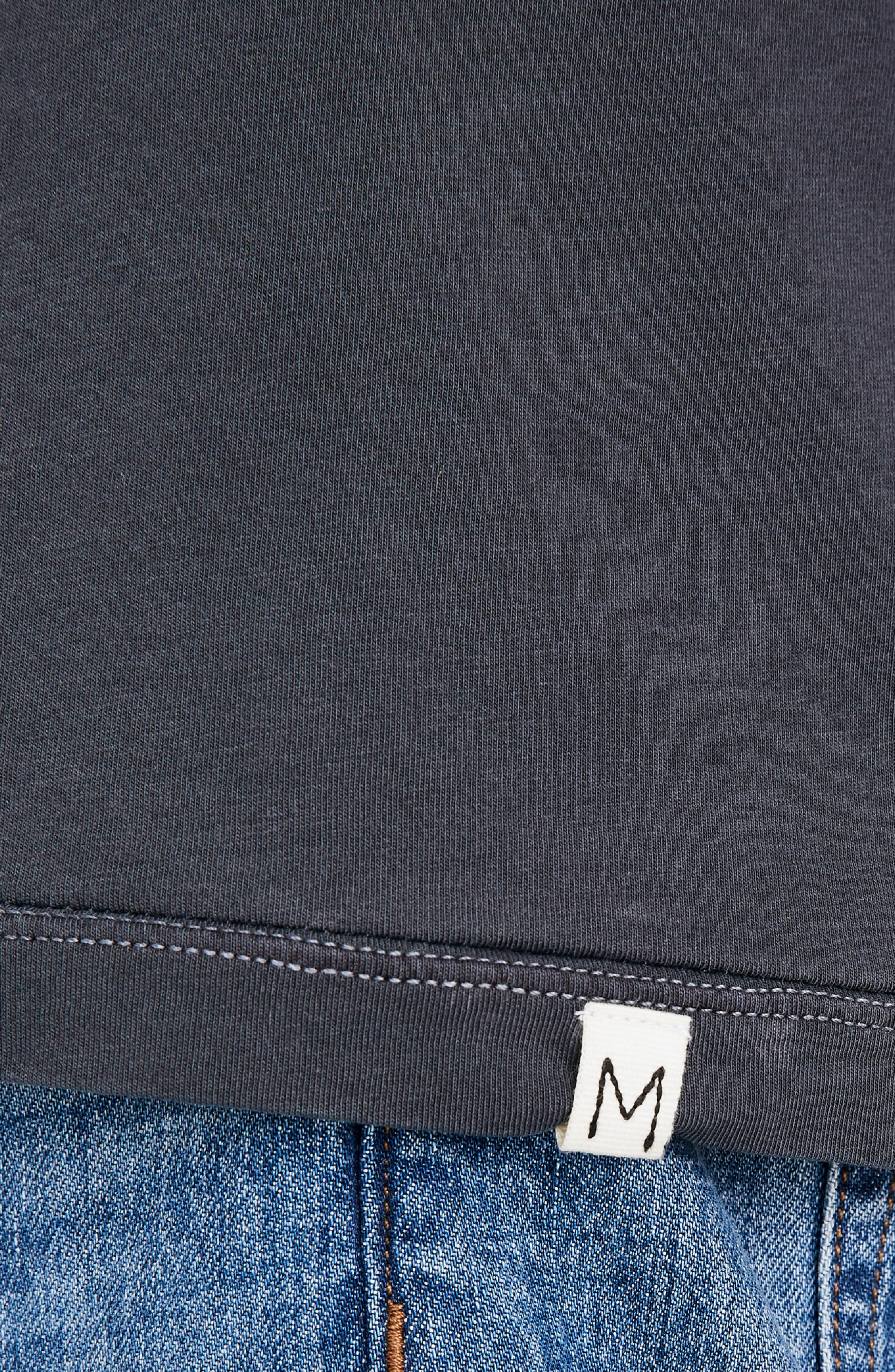 Long Sleeve Slim T-Shirt,                             Alternate thumbnail 2, color,                             CLASSIC BLACK
