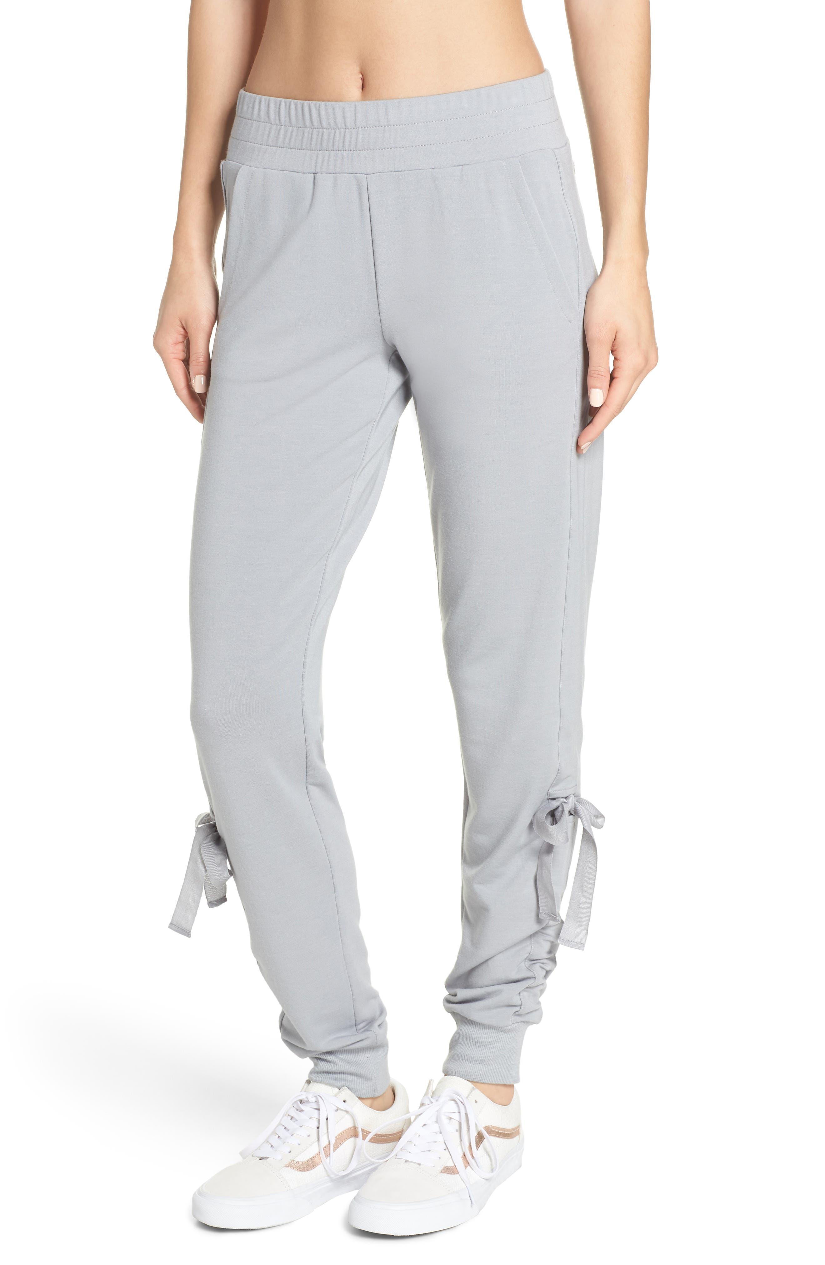 Gathered Jogger Pants,                         Main,                         color, 030