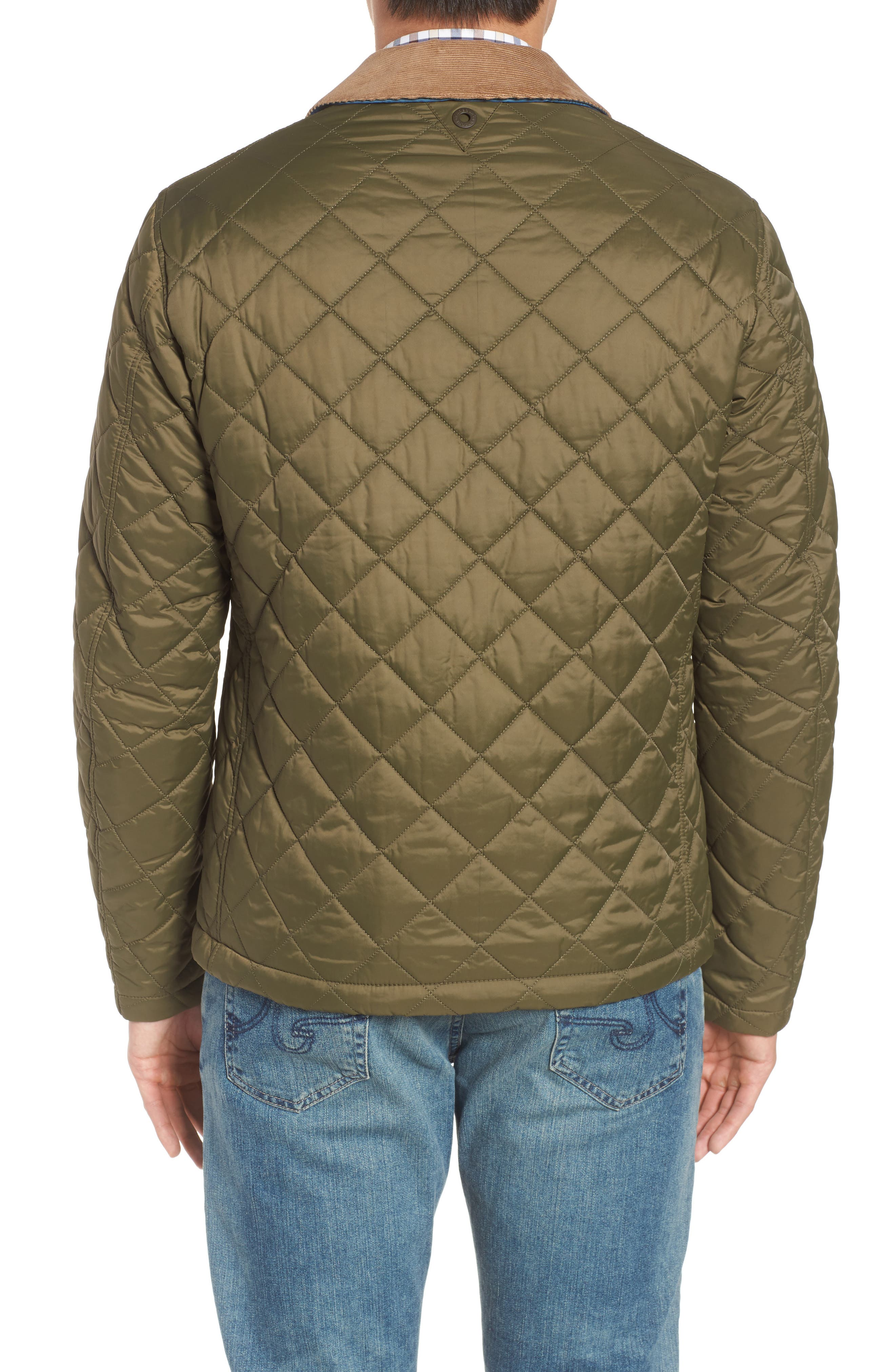 Helm Quilted Jacket,                             Alternate thumbnail 5, color,