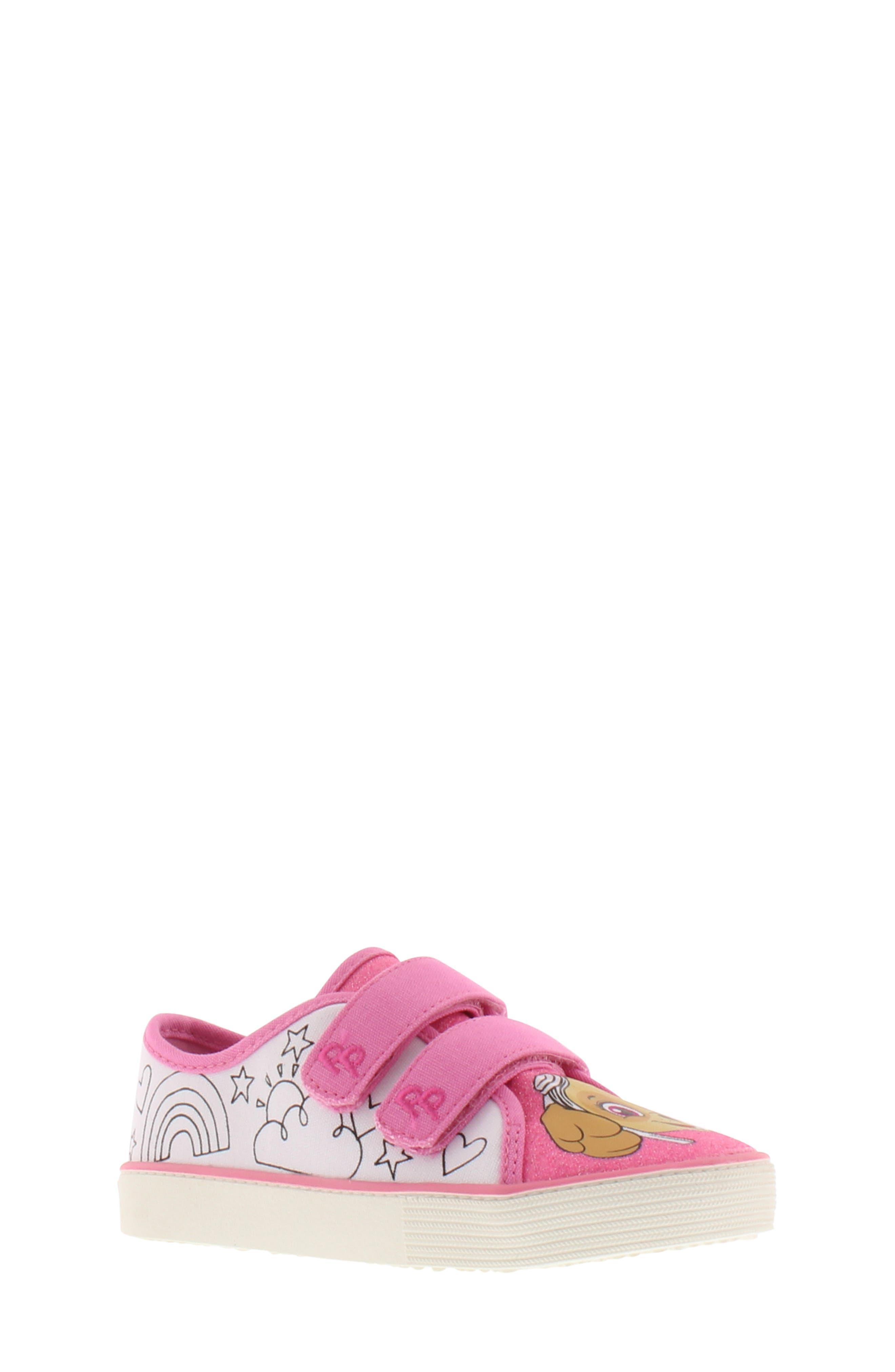 Skye Color DIY Sneaker, Main, color, PINK WHITE