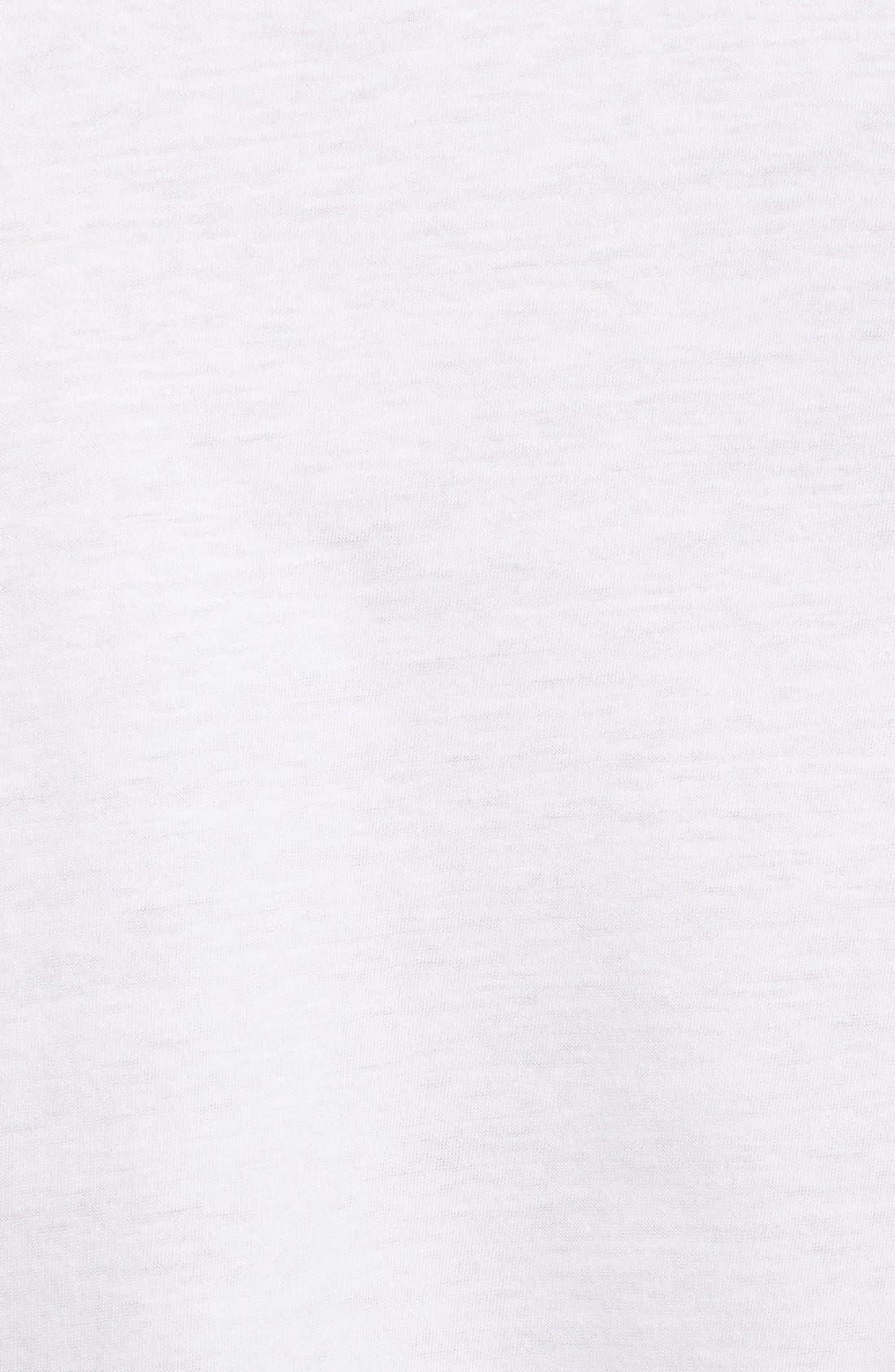 Slim Fit 3-Pack Cotton T-Shirt,                             Alternate thumbnail 6, color,                             100