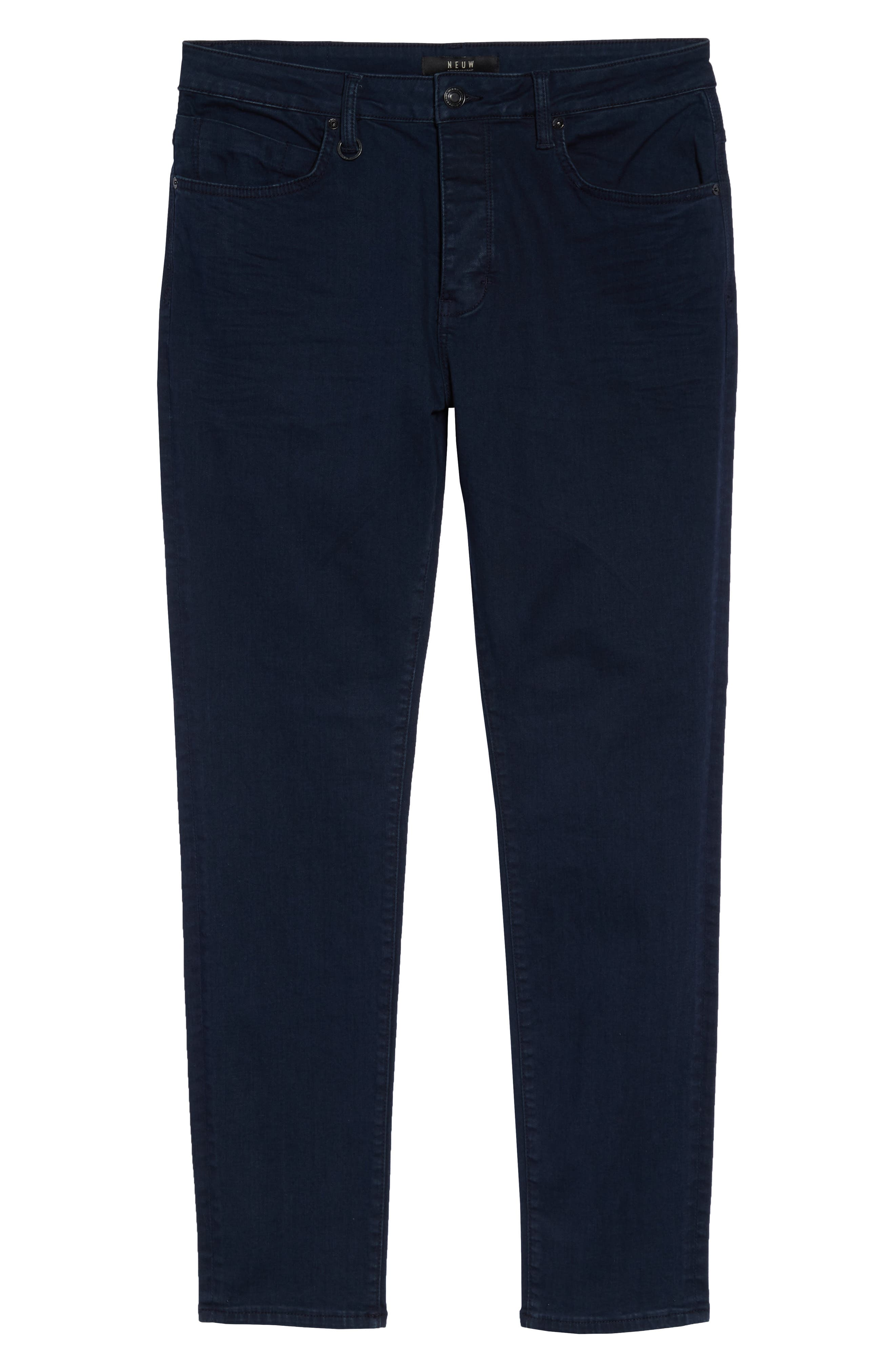 Ray Slim Fit Jeans,                             Alternate thumbnail 4, color,                             NORDIC BLUE