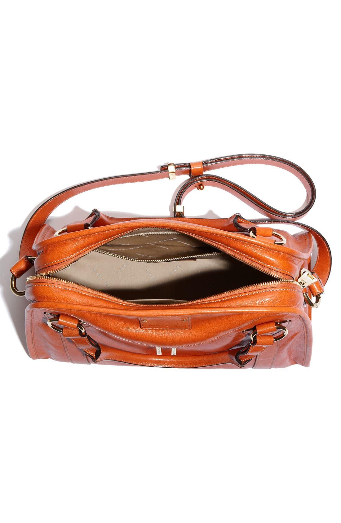 'Classic Wellington' Leather Satchel,                             Alternate thumbnail 24, color,