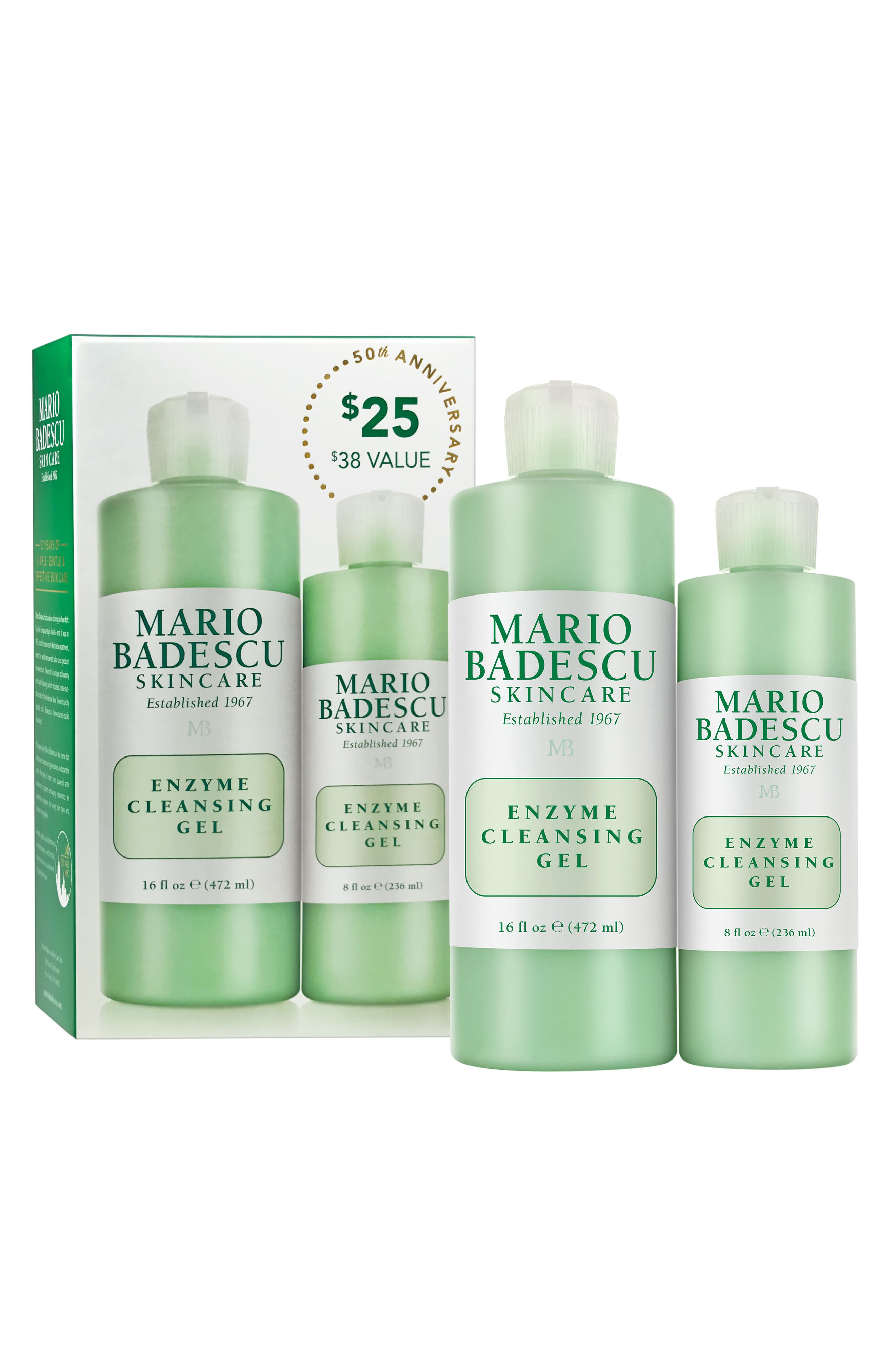 MARIO BADESCU,                             Enzyme Cleansing Gel Duo,                             Alternate thumbnail 2, color,                             000