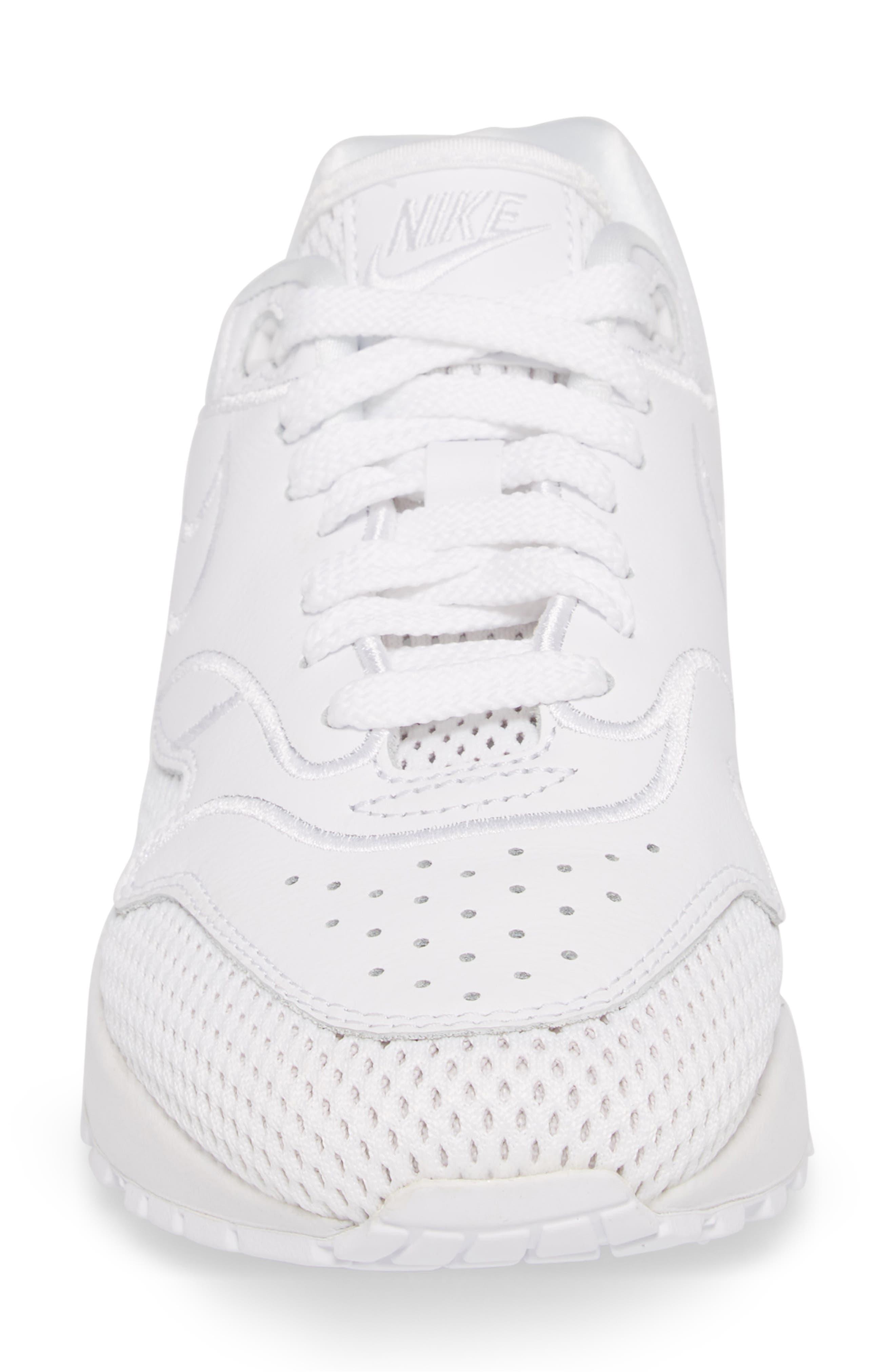 Air Max 1 SI Sneaker,                             Alternate thumbnail 4, color,                             100