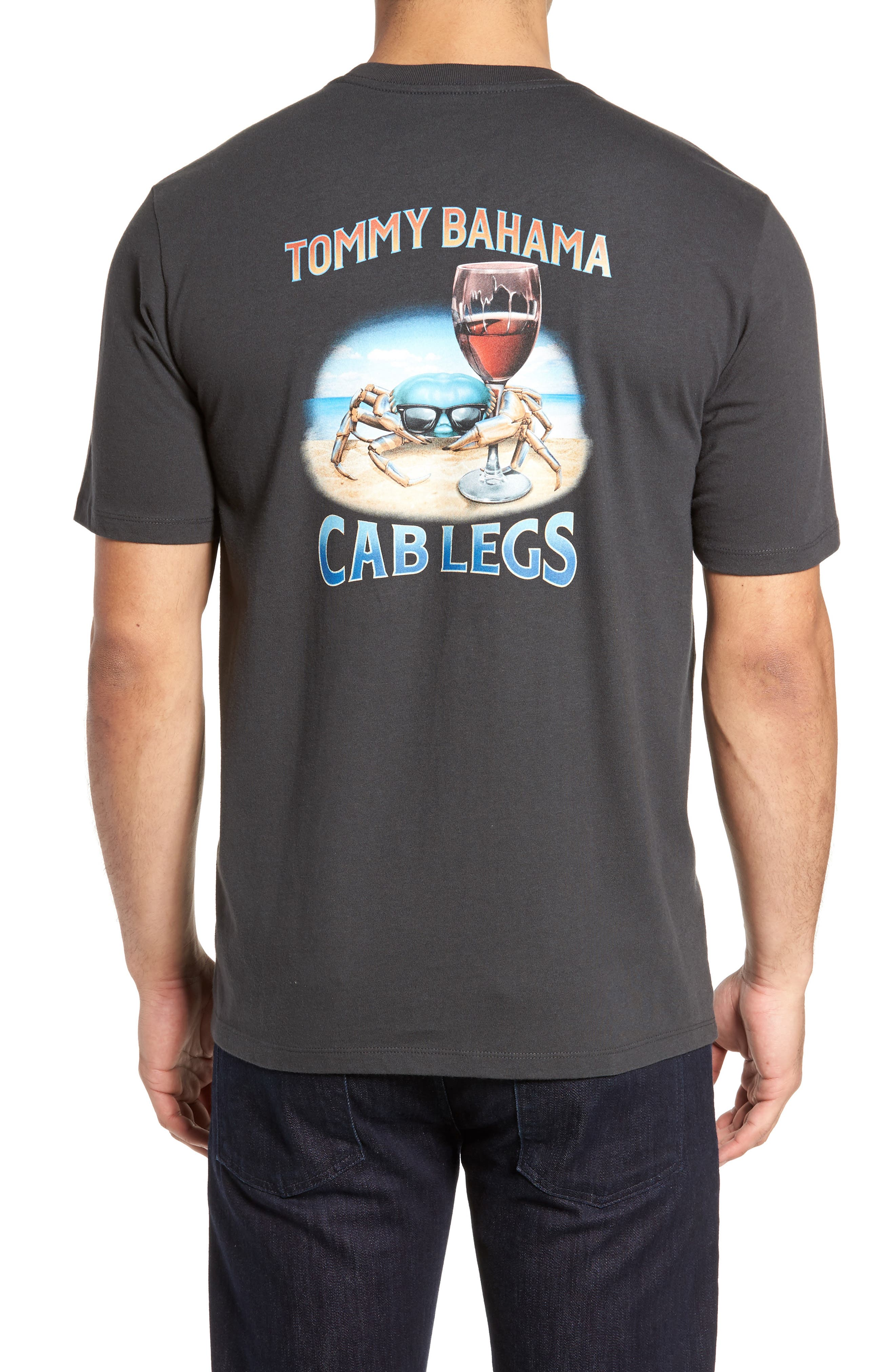 Cab Legs Graphic T-Shirt,                             Alternate thumbnail 2, color,