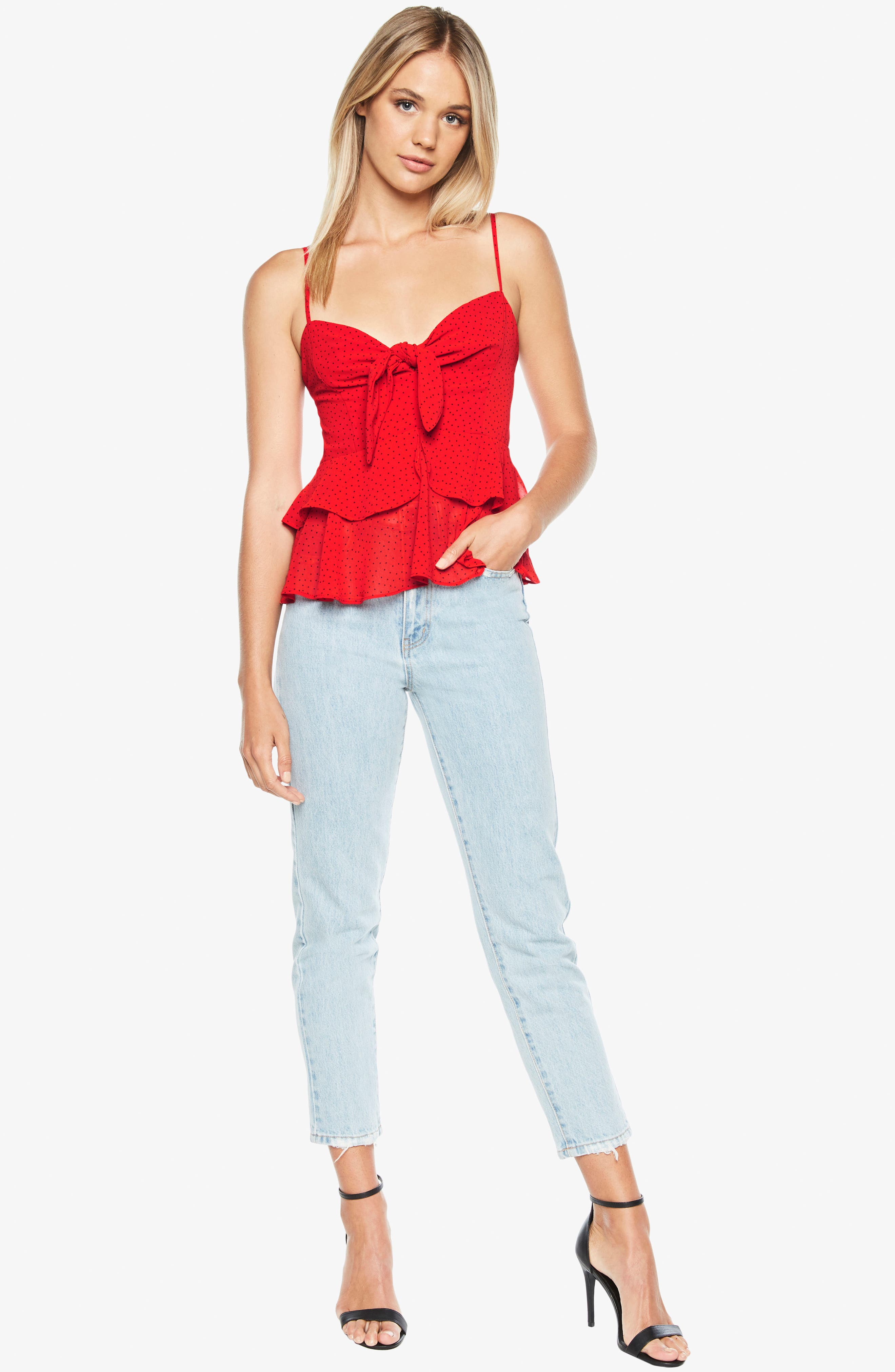 Caeln Bow Camisole,                             Alternate thumbnail 5, color,                             647