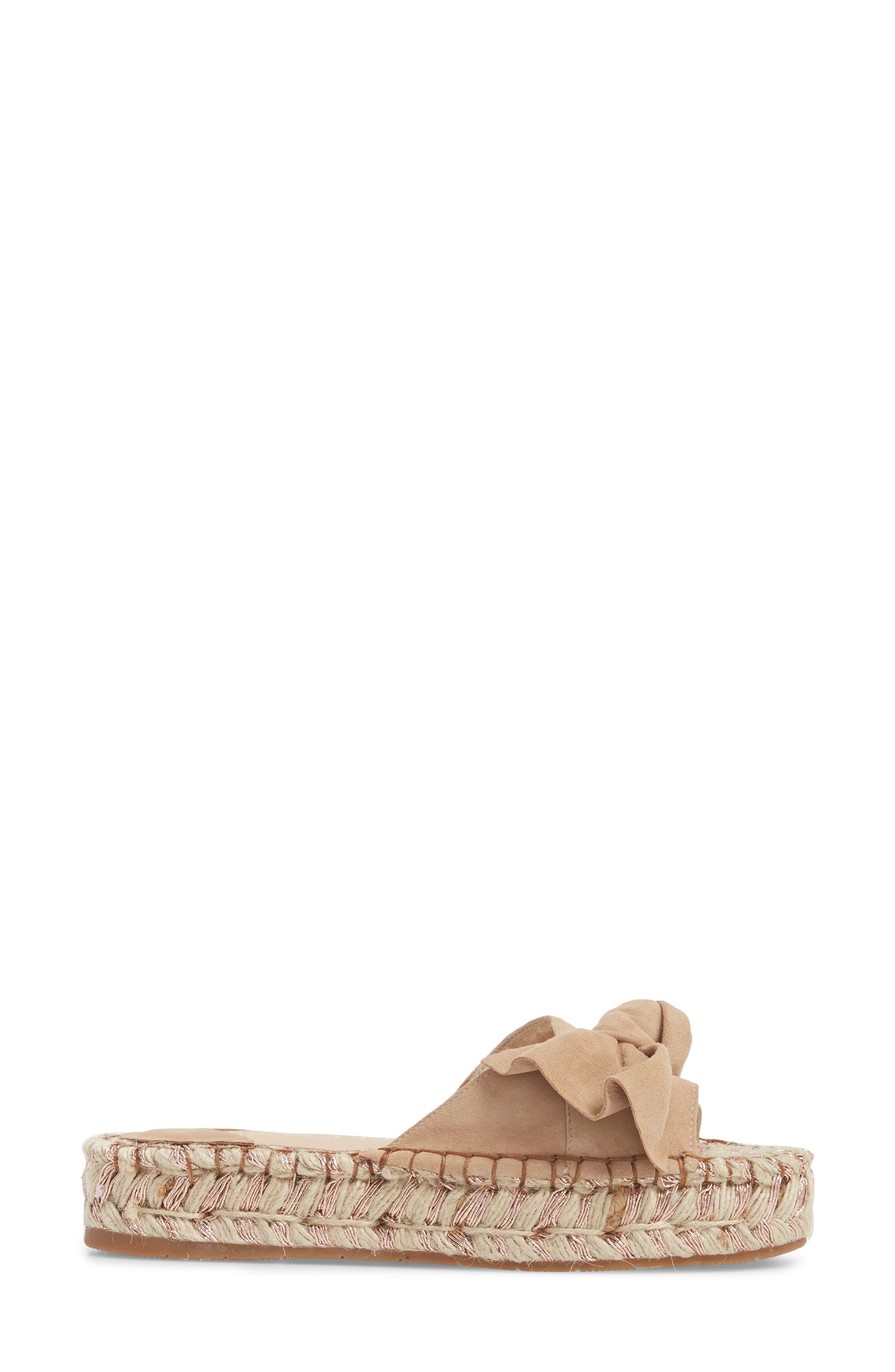 Ritsy Espadrille Slide Sandal,                             Alternate thumbnail 3, color,                             200