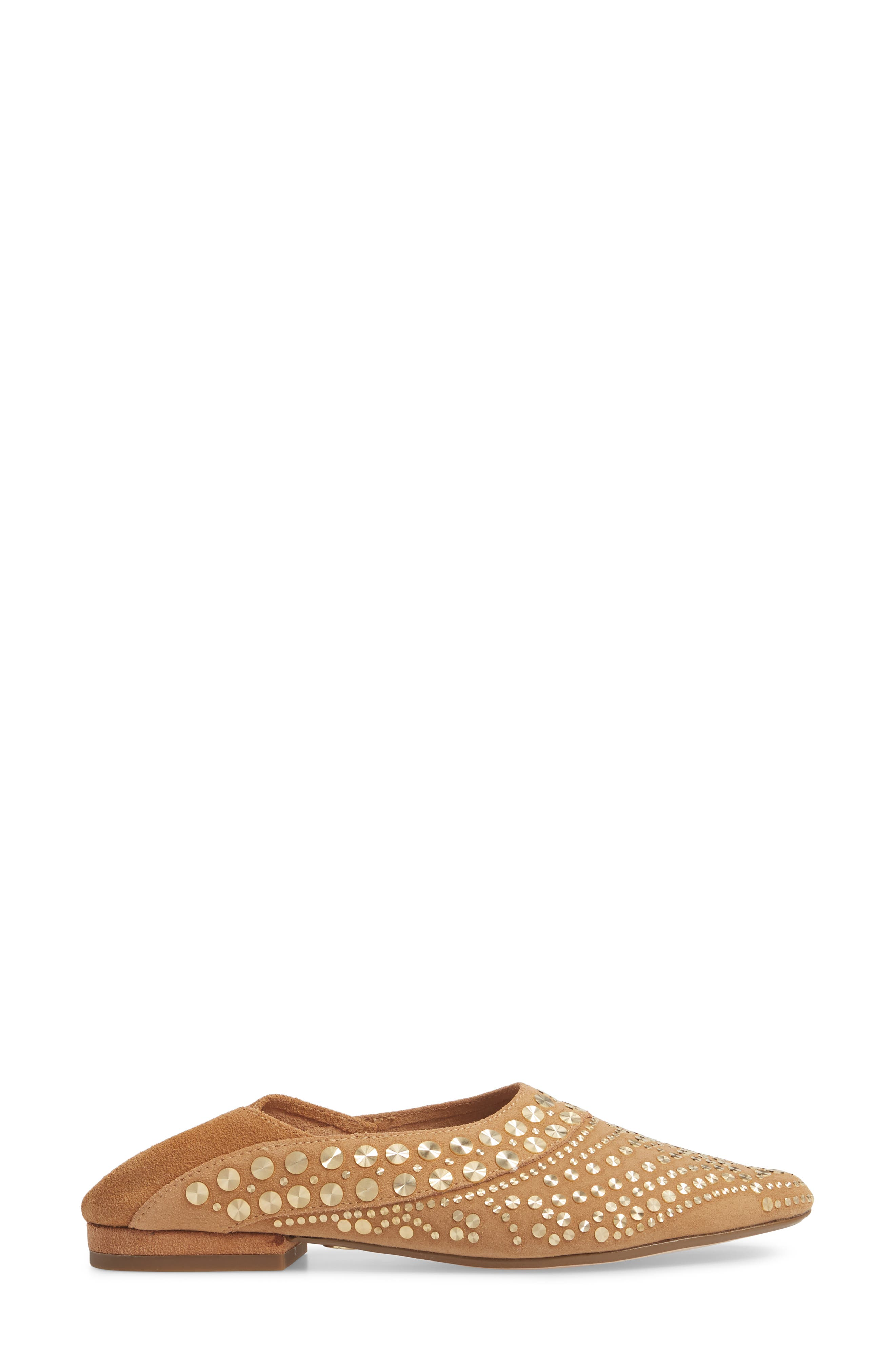 Mojito Convertible Flat,                             Alternate thumbnail 4, color,                             SAND SUEDE