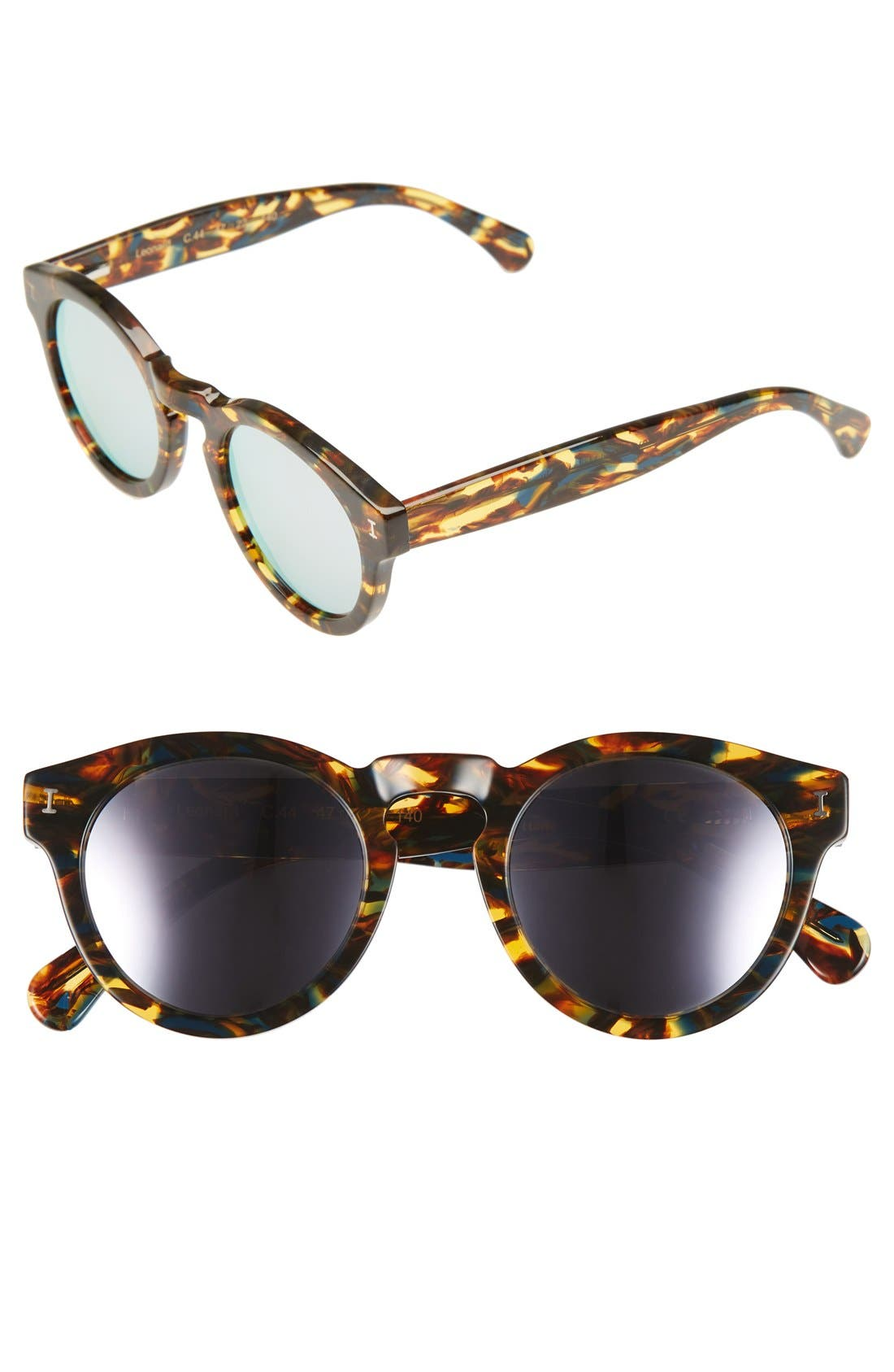 'Leonard' 47mm Sunglasses,                             Main thumbnail 62, color,