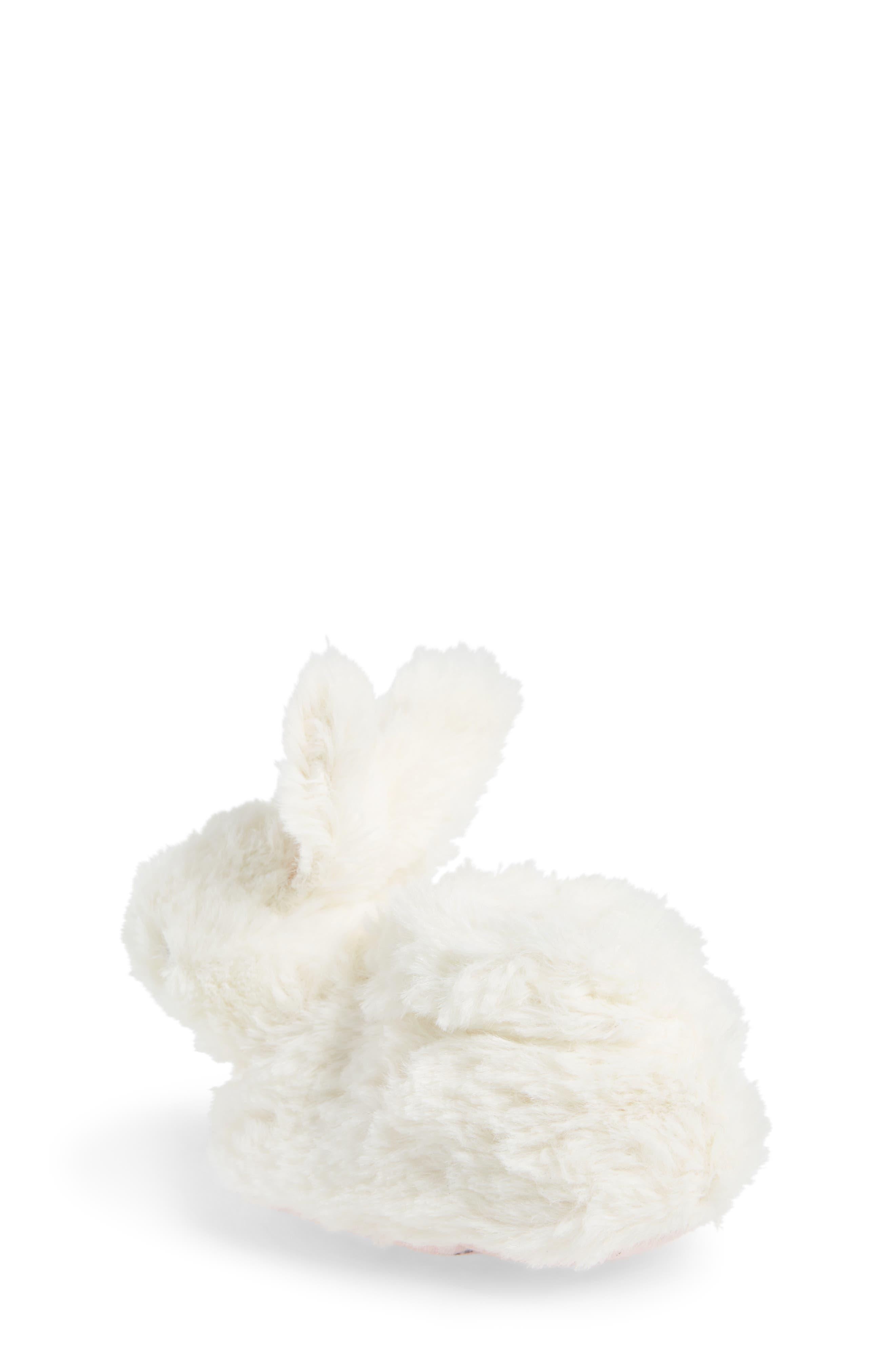 Faux Fur Bunny Slipper,                             Alternate thumbnail 2, color,                             100