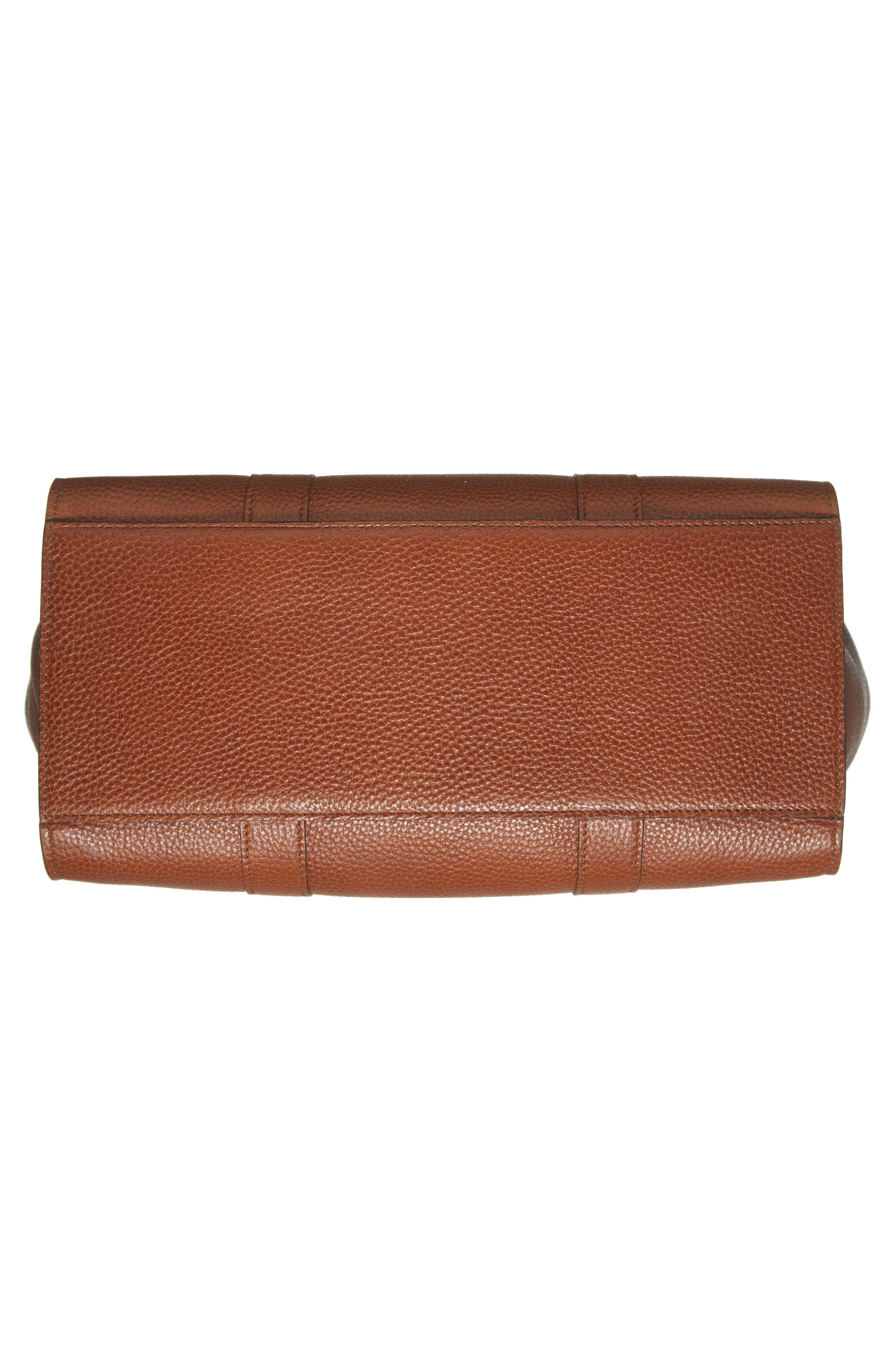 Bayswater Calfskin Leather Satchel,                             Alternate thumbnail 6, color,                             201