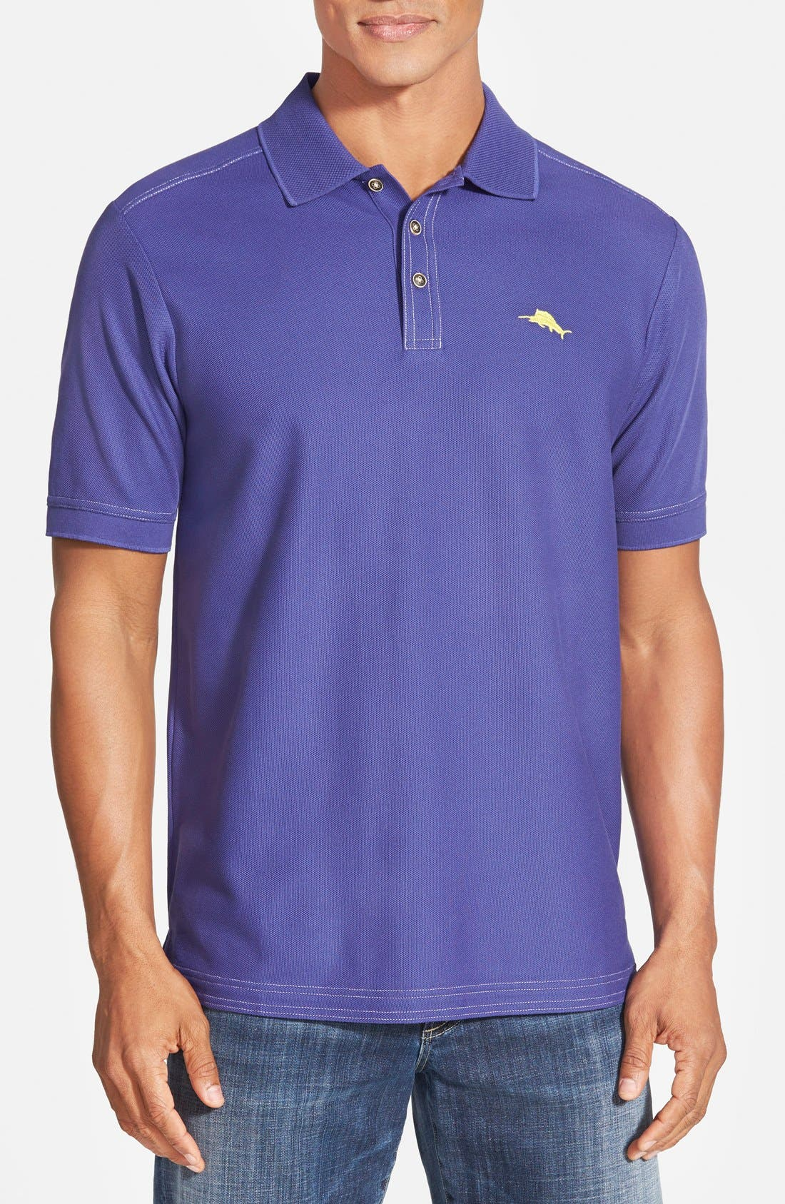 'The Emfielder' Original Fit Piqué Polo,                             Main thumbnail 88, color,