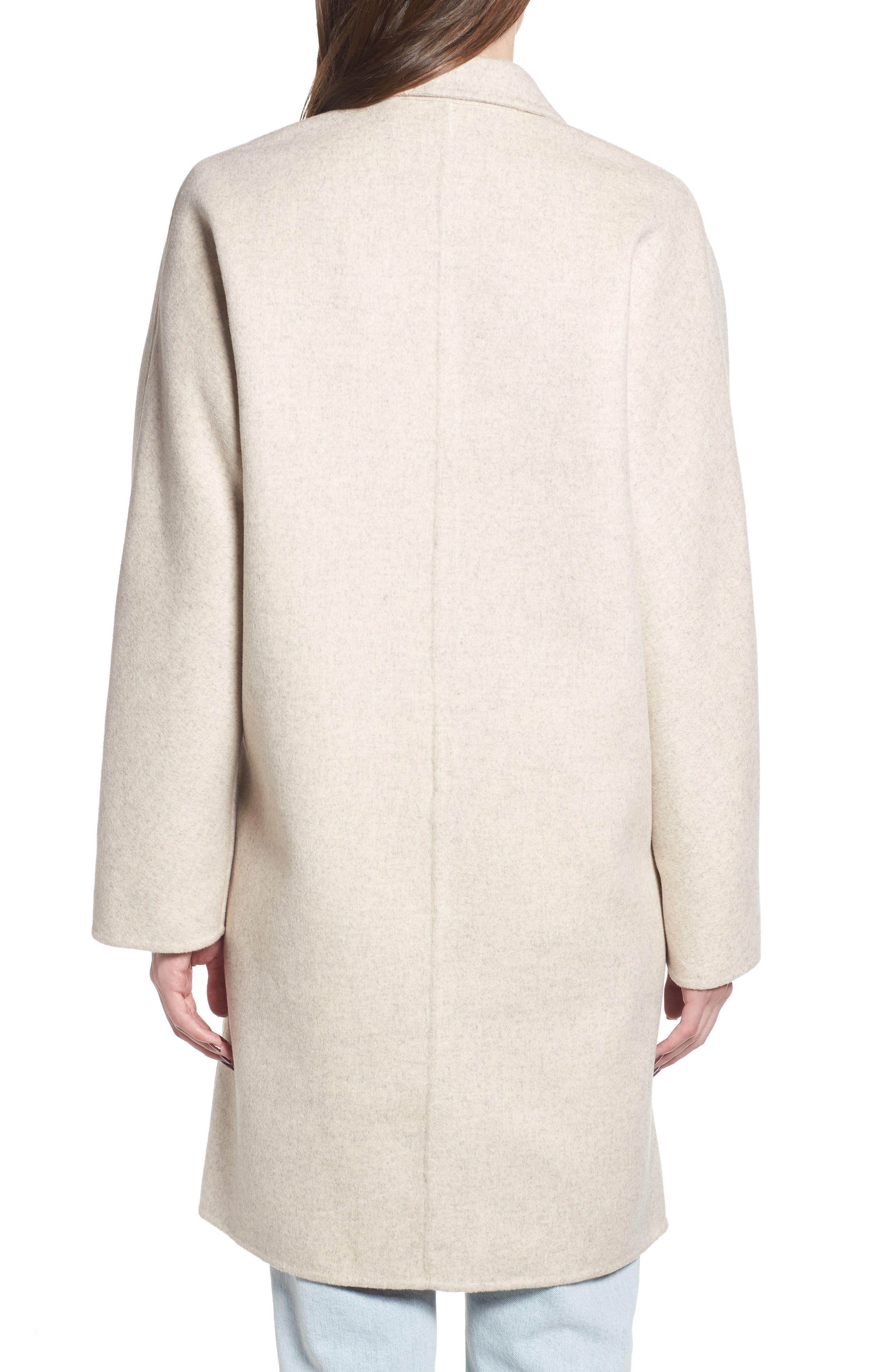 Everest Wool Blend Coat,                             Alternate thumbnail 3, color,                             OATMEAL