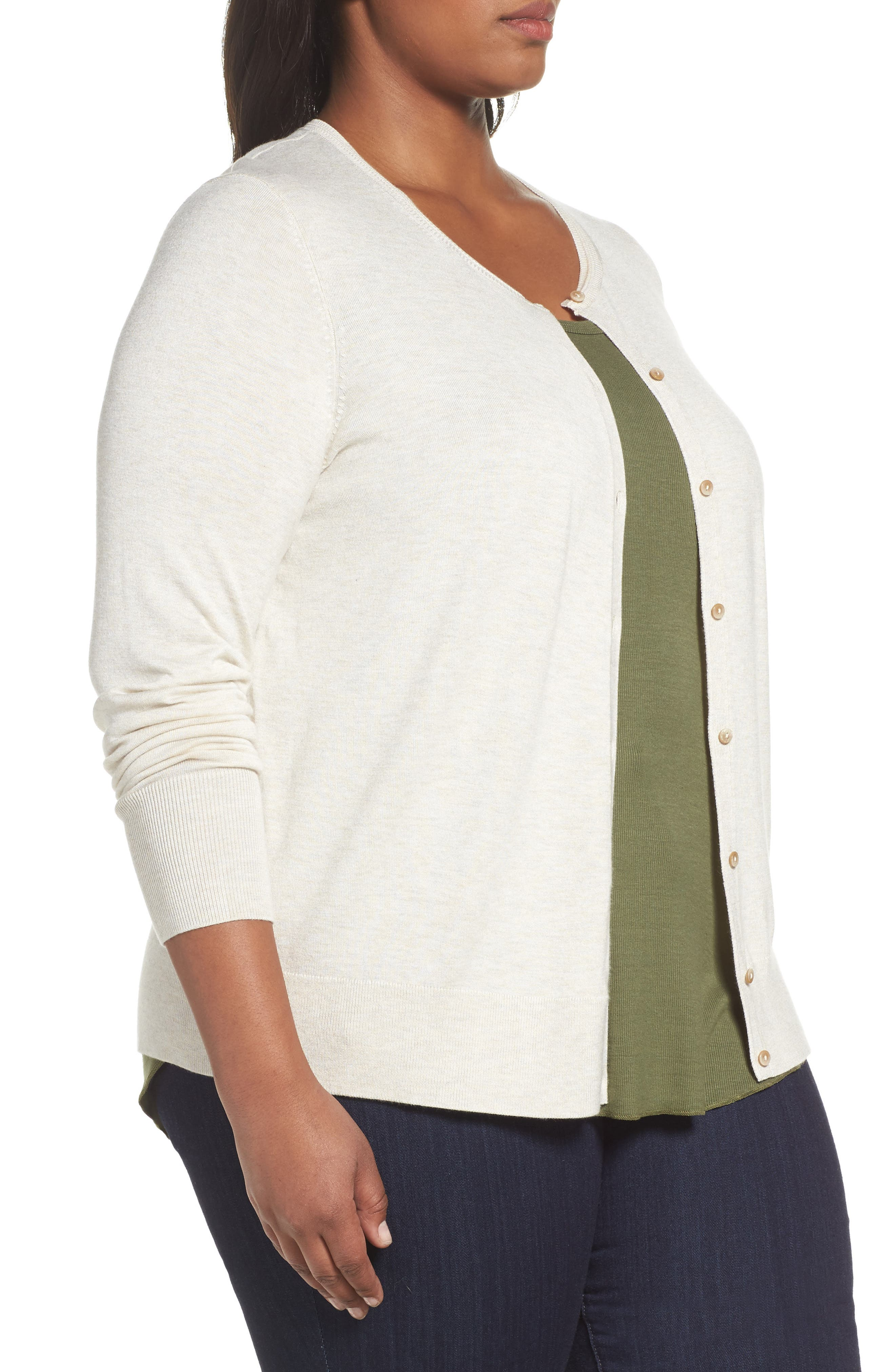 Button Front Cardigan,                             Alternate thumbnail 41, color,