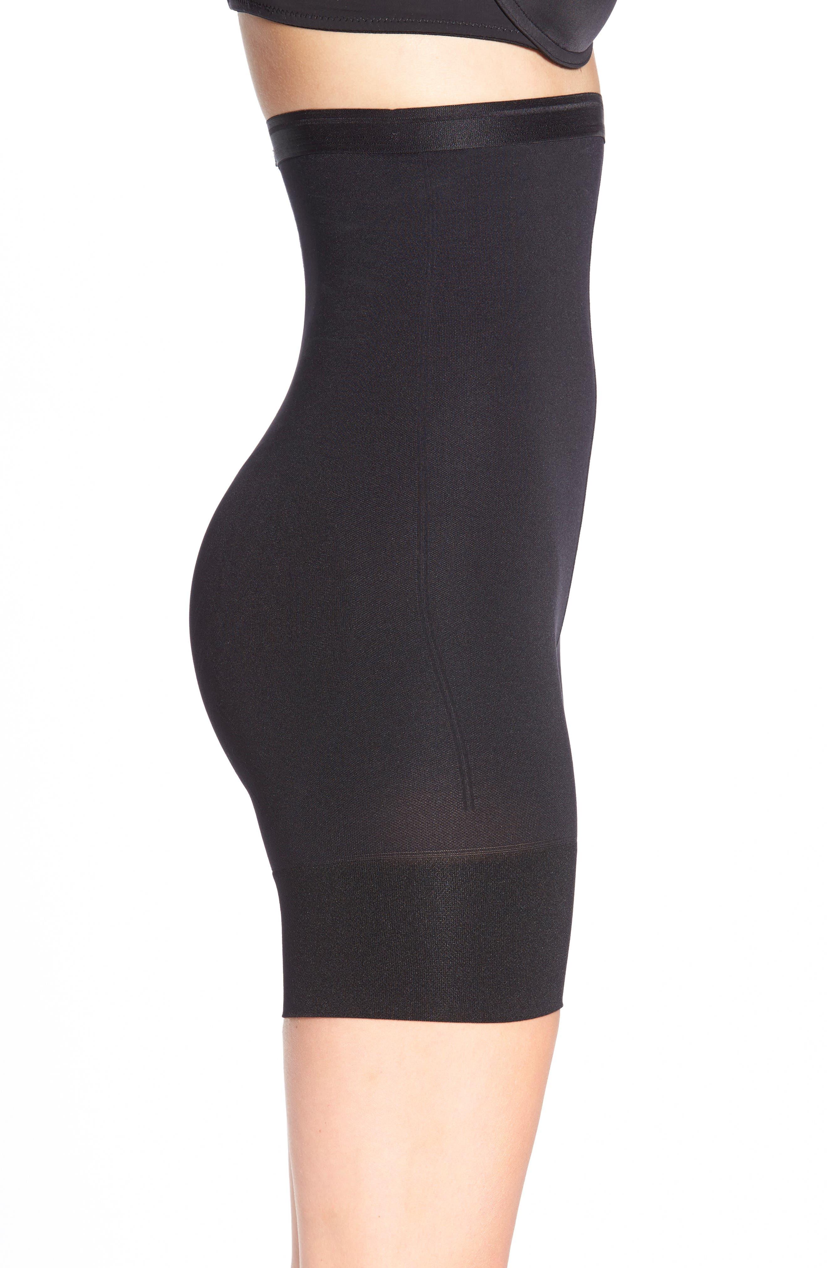 Shorty Shaping Shorts,                             Main thumbnail 1, color,                             BLACK