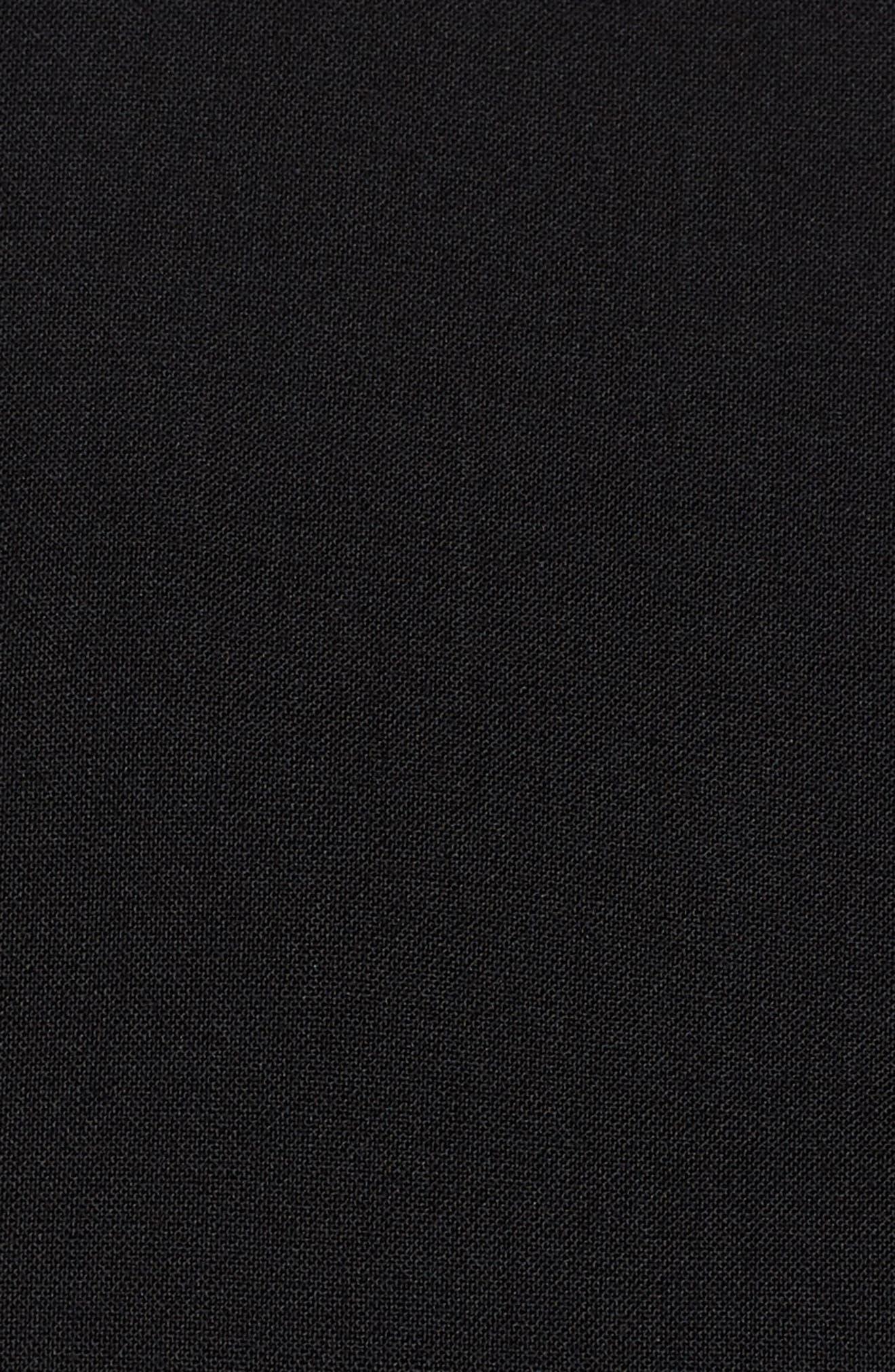 Jolanna Tropical Stretch Wool Jacket,                             Alternate thumbnail 6, color,                             001