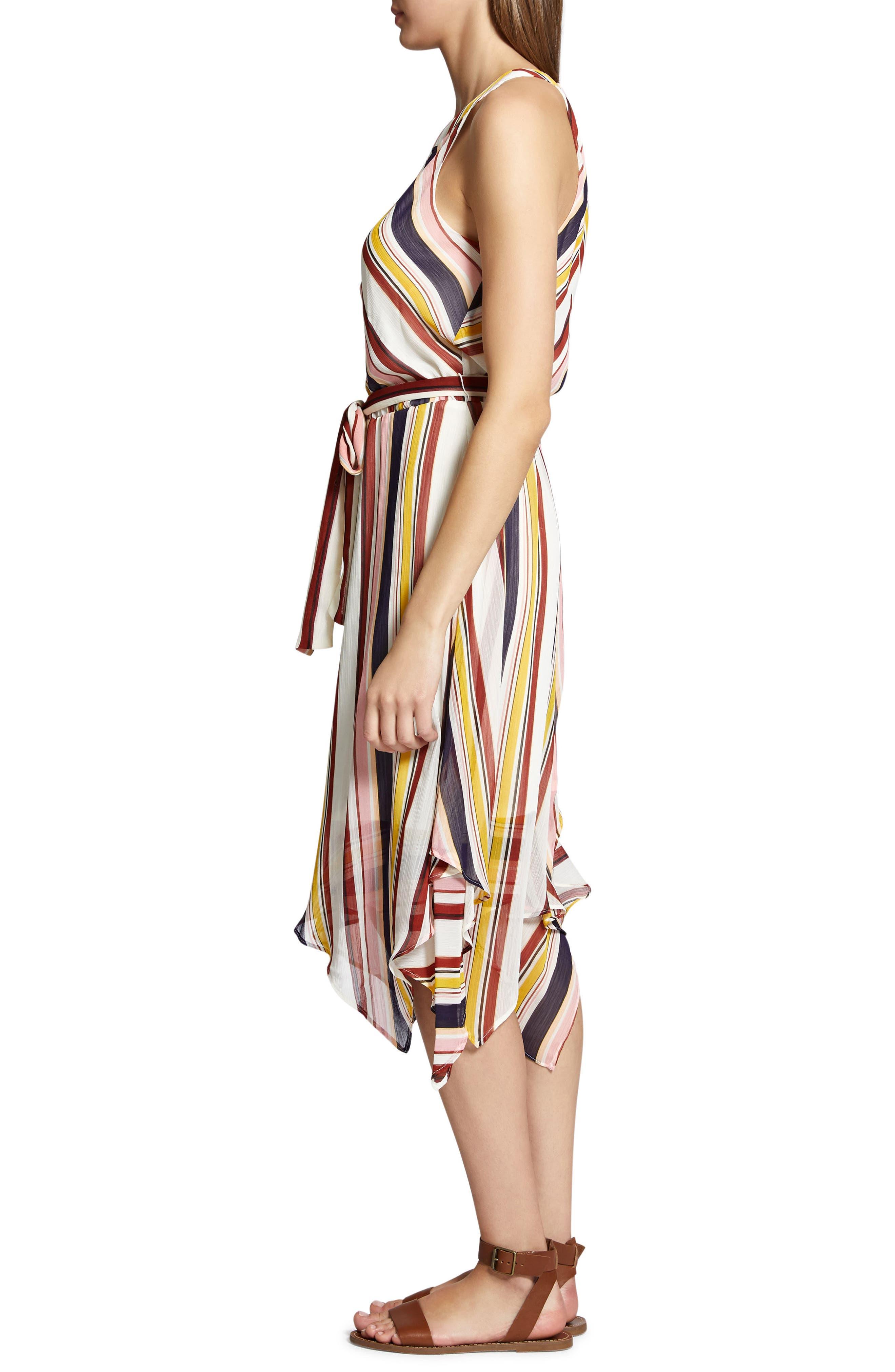 Levels of the Desert Midi Dress,                             Alternate thumbnail 3, color,                             903