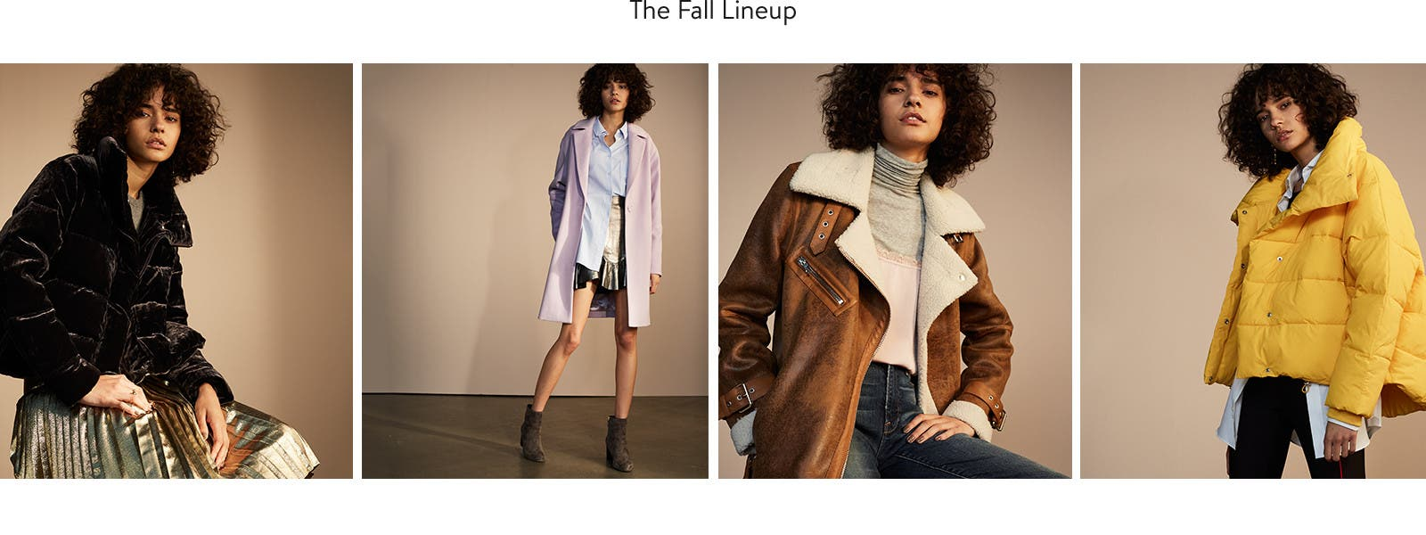 Fall jackets and women's coats are on our list.