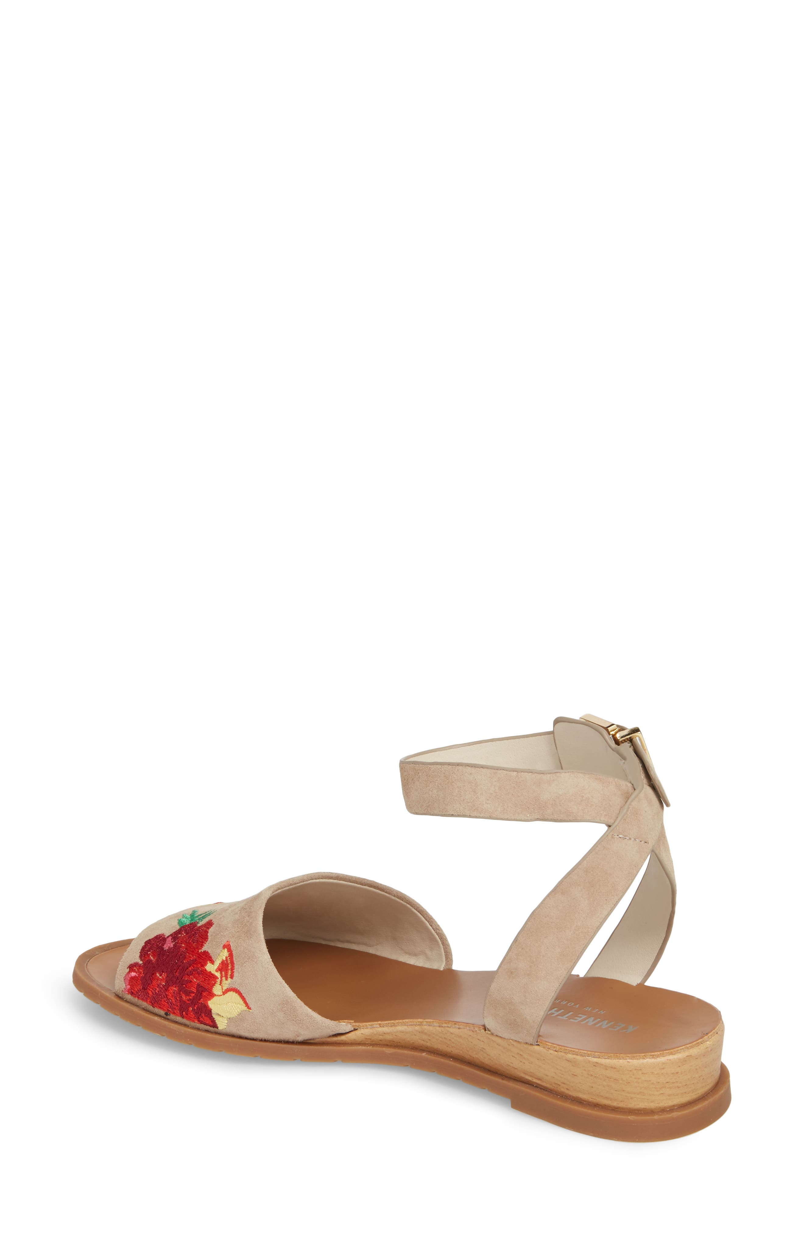 Jinny Ankle Strap Sandal,                             Alternate thumbnail 2, color,                             250