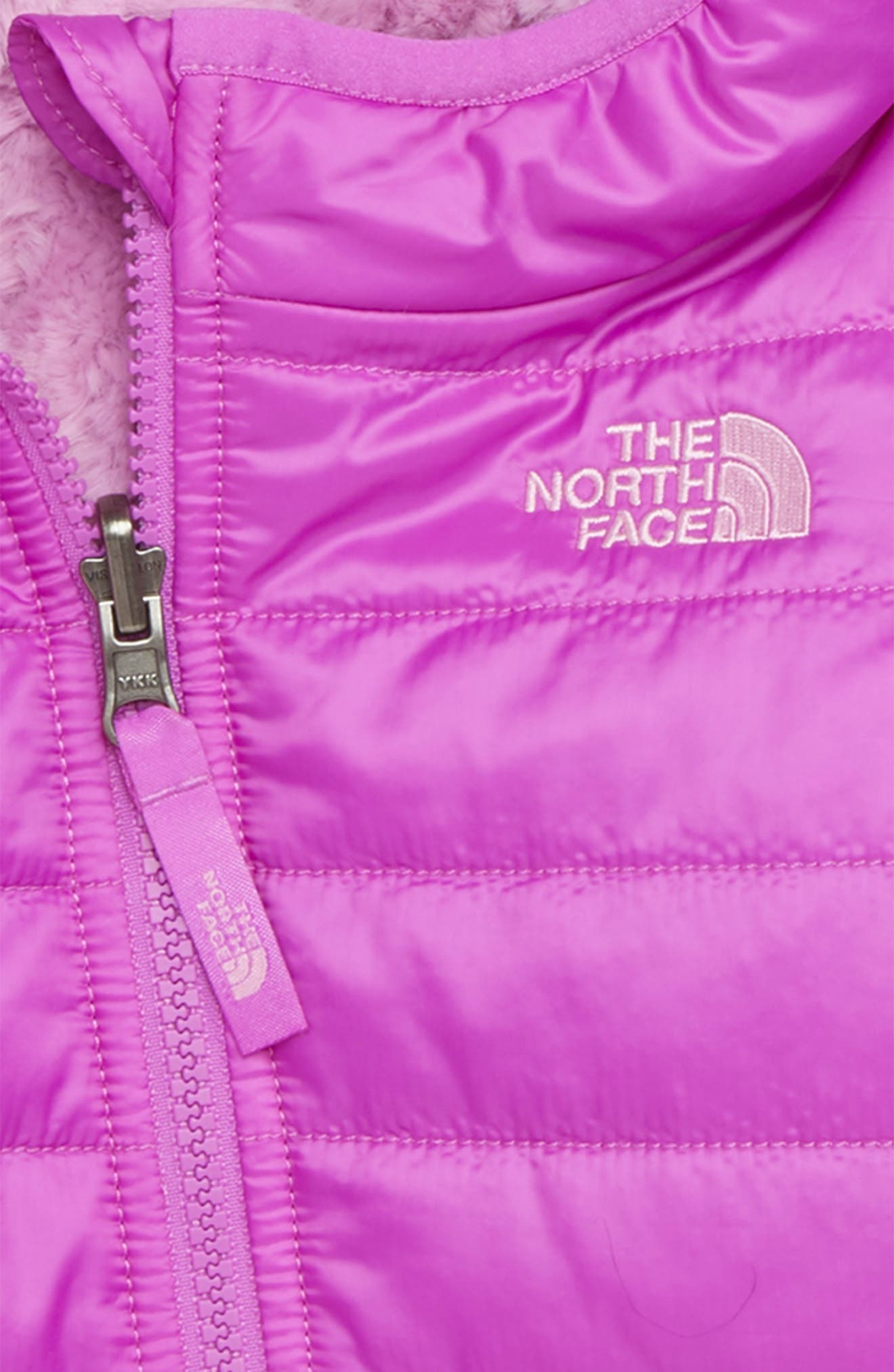 THE NORTH FACE,                             Mossbud Reversible Water Repellent Heatseeker<sup>™</sup> Insulated Jacket,                             Alternate thumbnail 3, color,                             510