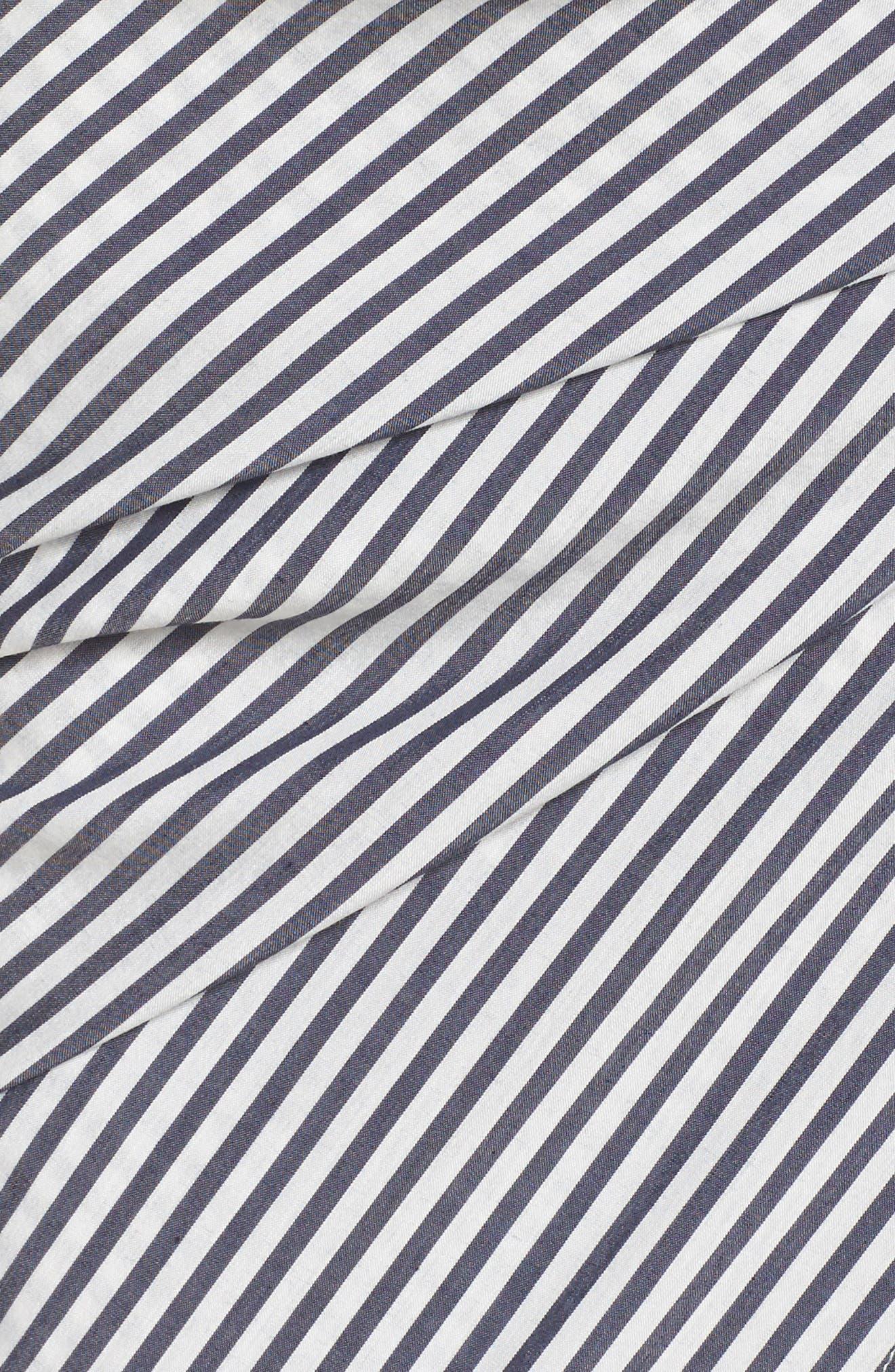 Cocktails Please Stripe Two-Piece Dress,                             Alternate thumbnail 5, color,                             100