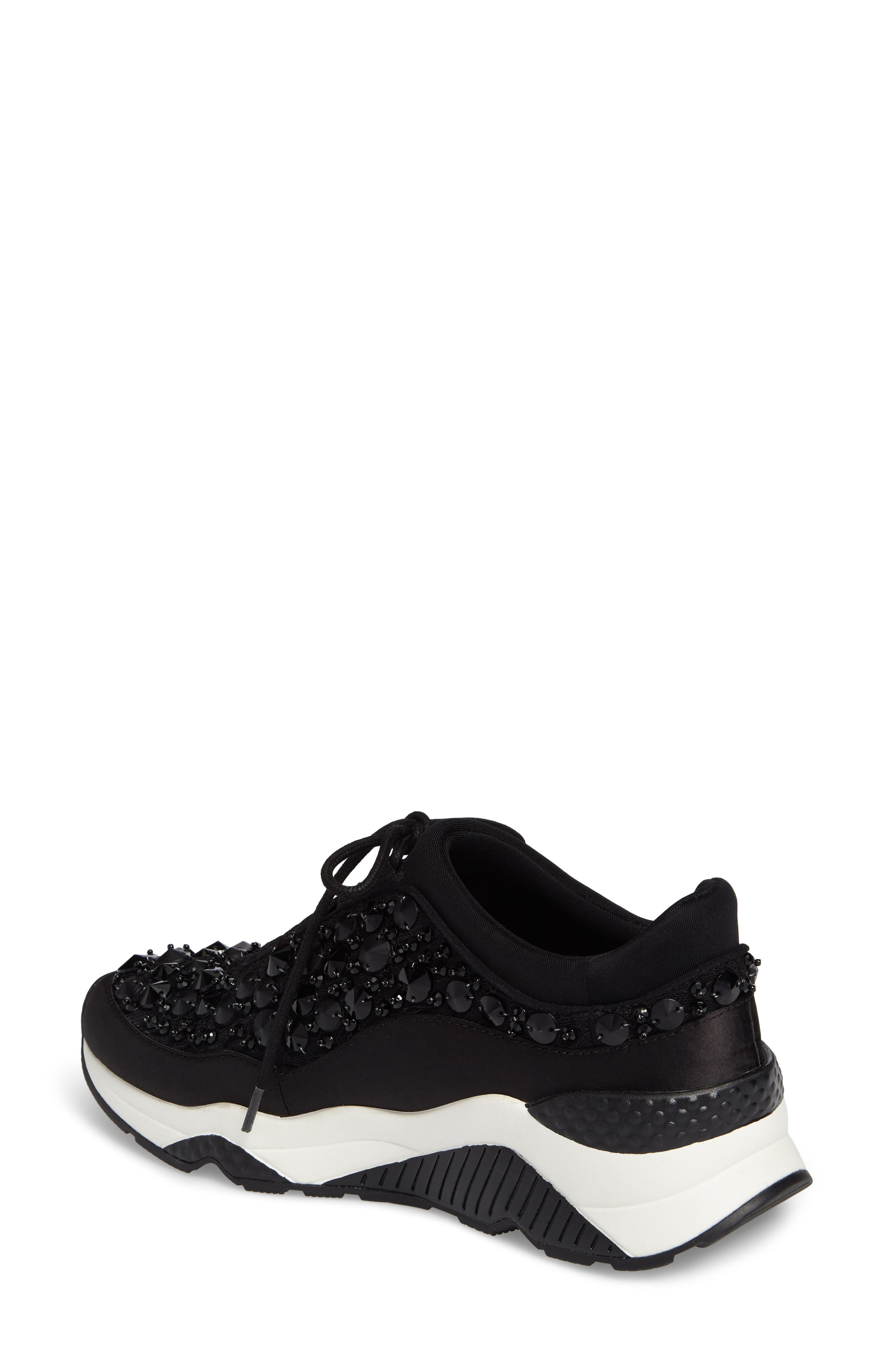 Muse Beads Sneaker,                             Alternate thumbnail 2, color,                             001