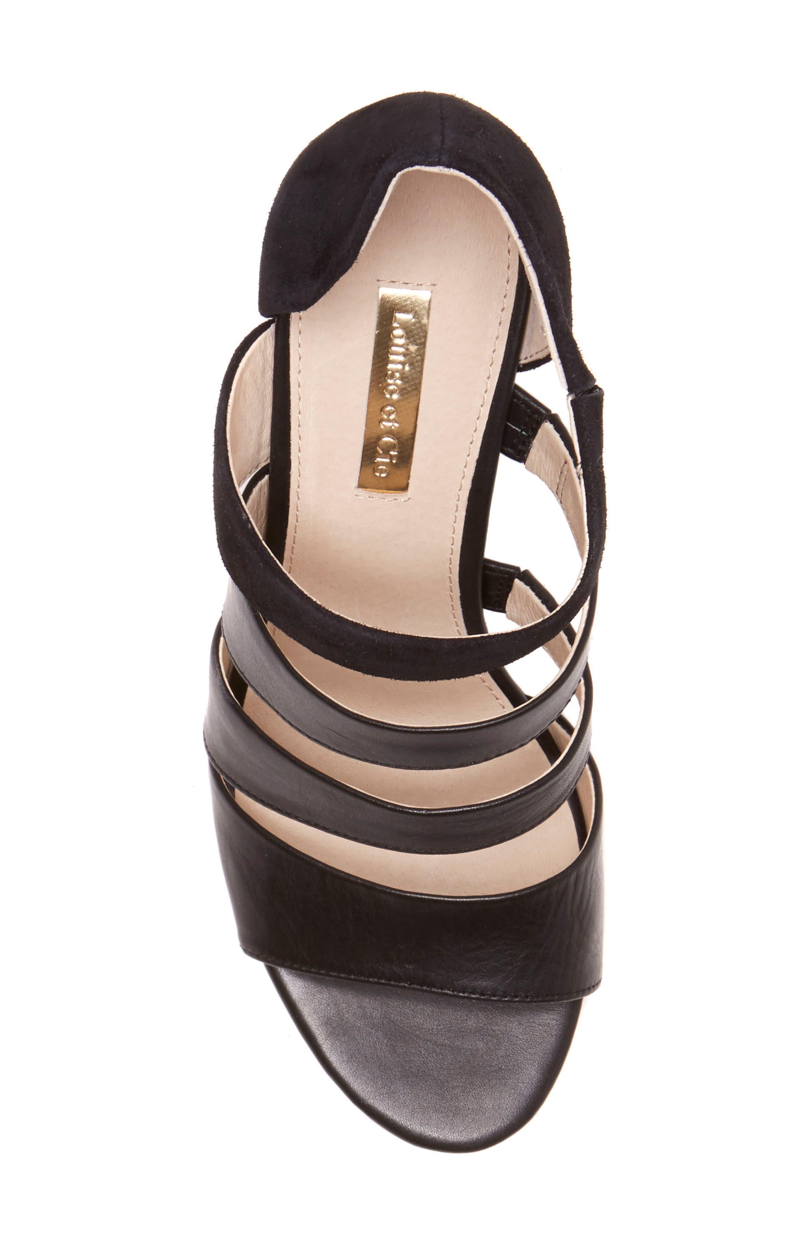 Kainey Strappy Sandal,                             Alternate thumbnail 5, color,                             002