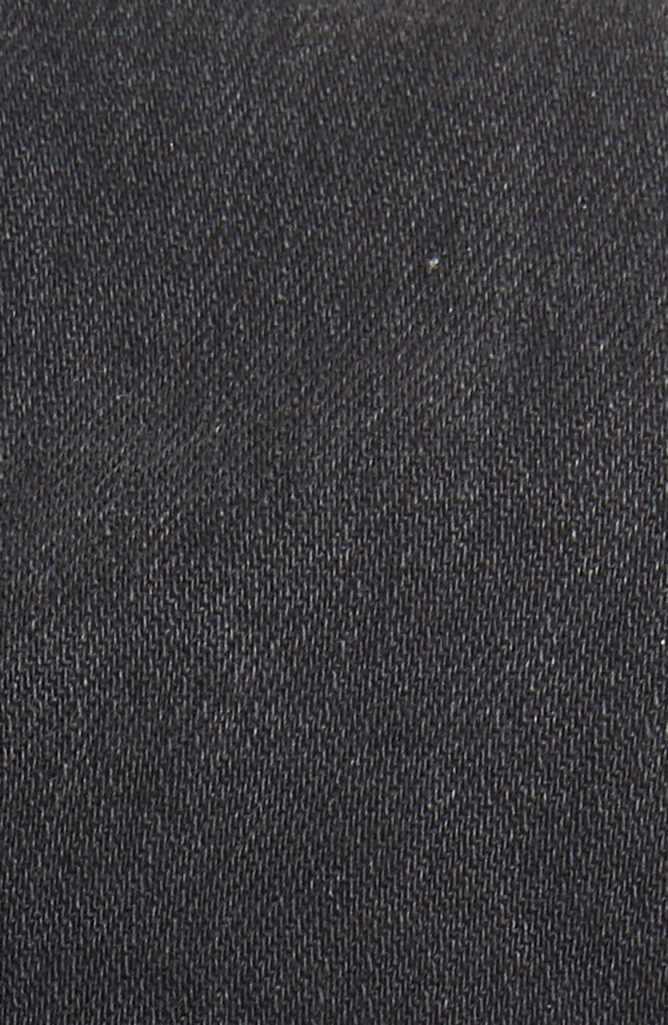 Zuma Sequin Star Crop Denim Jacket,                             Alternate thumbnail 5, color,                             010