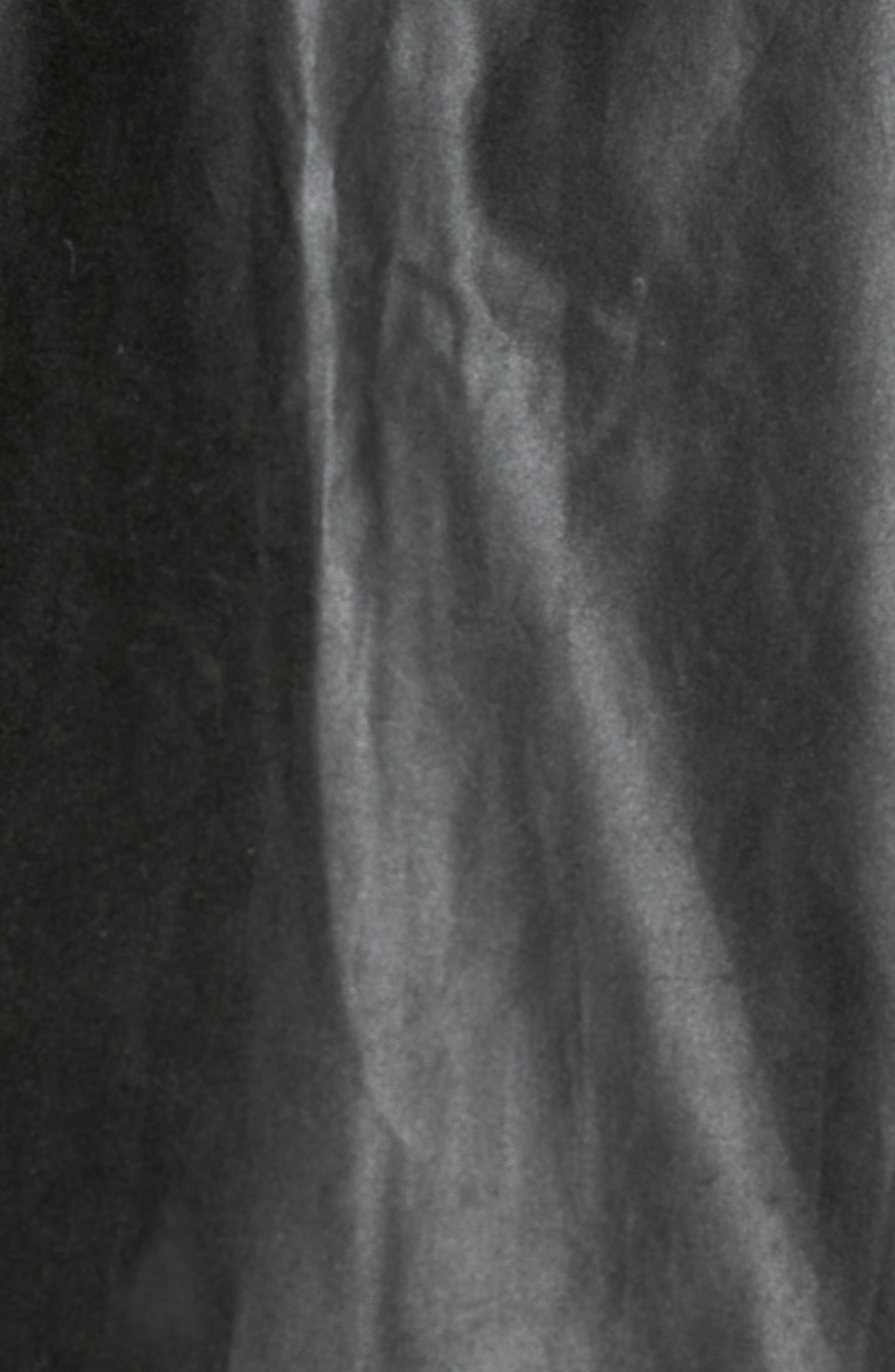 Heskin Waxed Cotton Jacket,                             Alternate thumbnail 6, color,                             SAGE