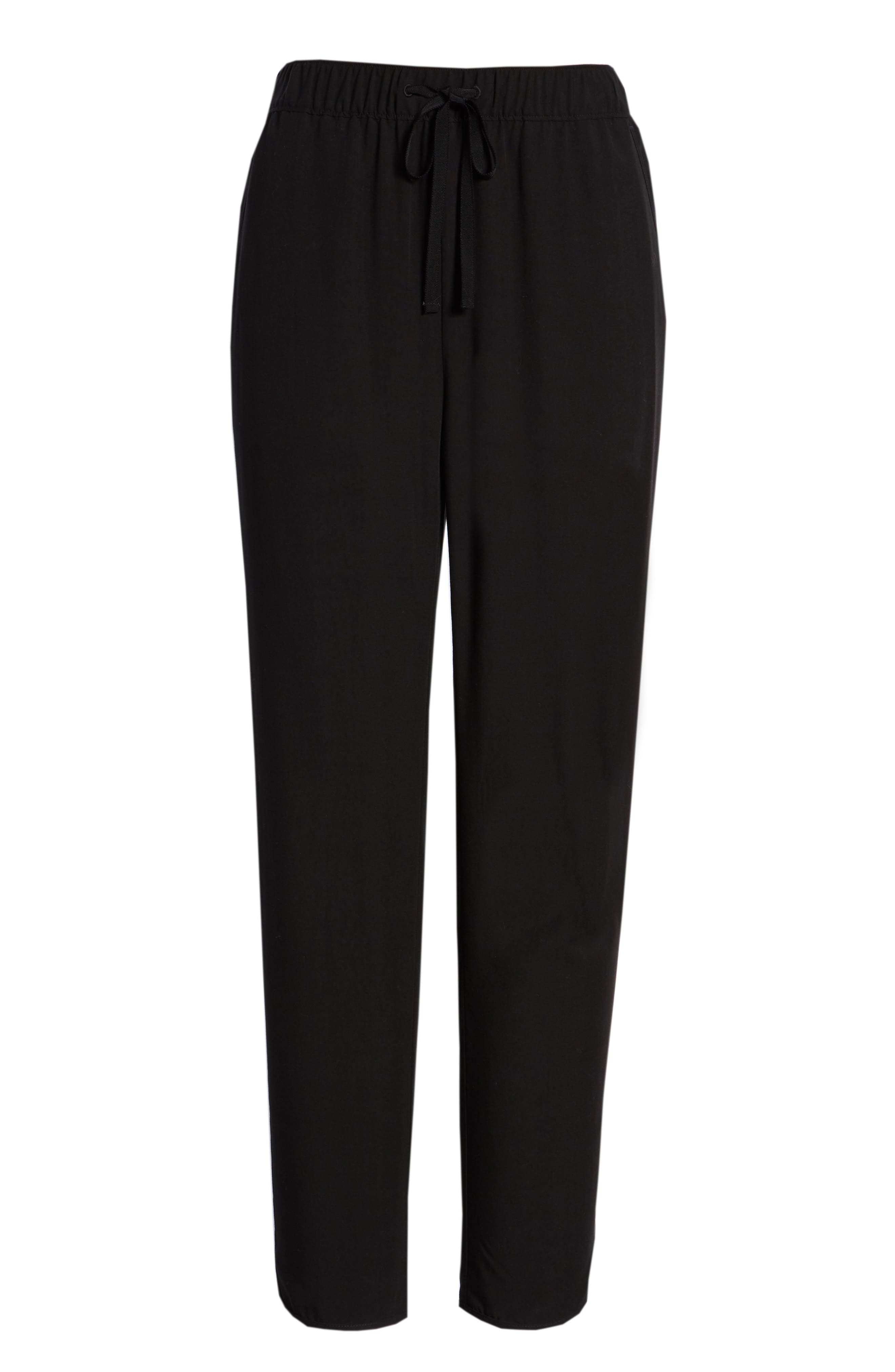 MADEWELL,                             Drawstring Track Trousers,                             Alternate thumbnail 6, color,                             001